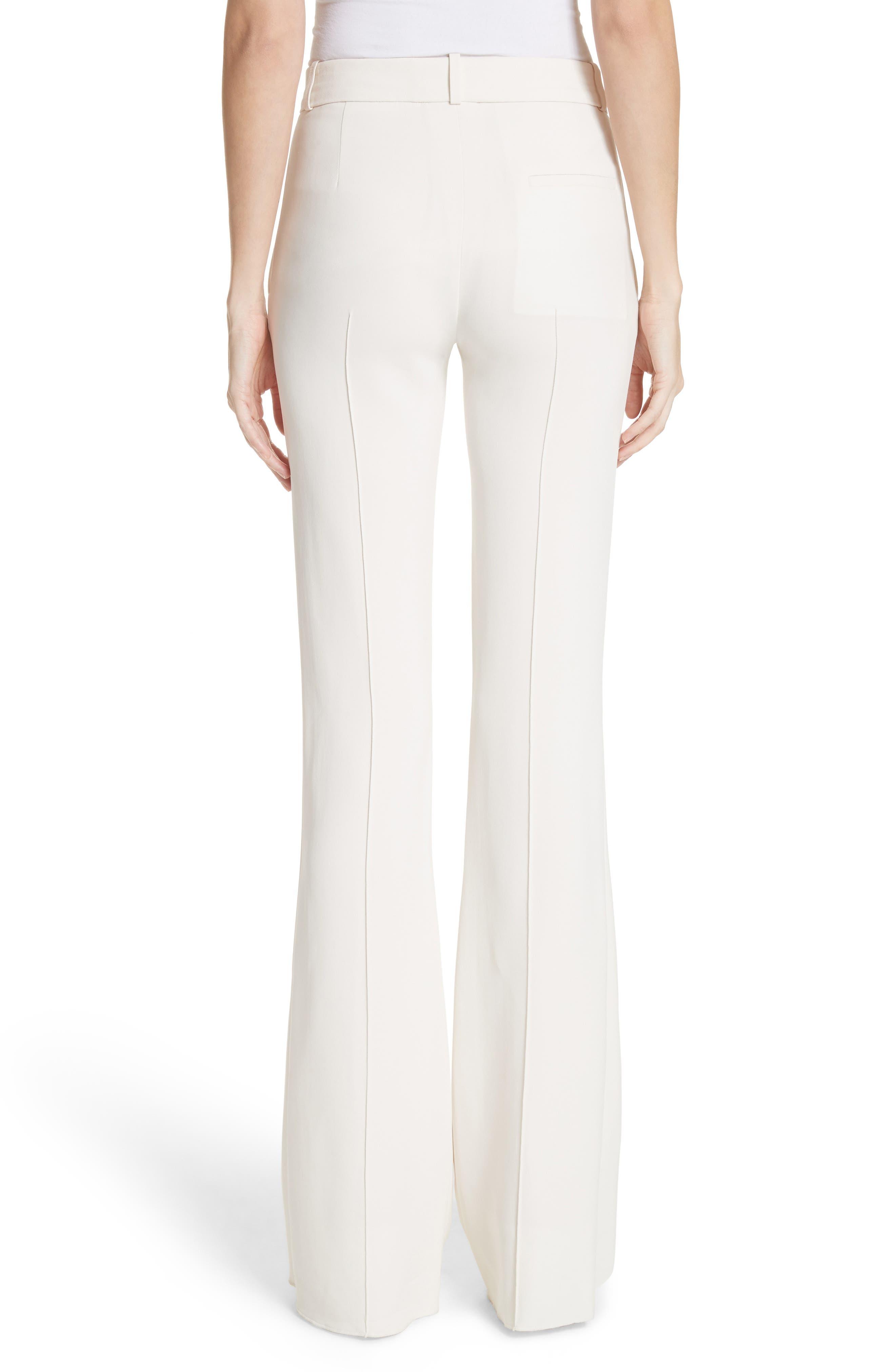 Flare Pants,                             Alternate thumbnail 2, color,                             Vanilla