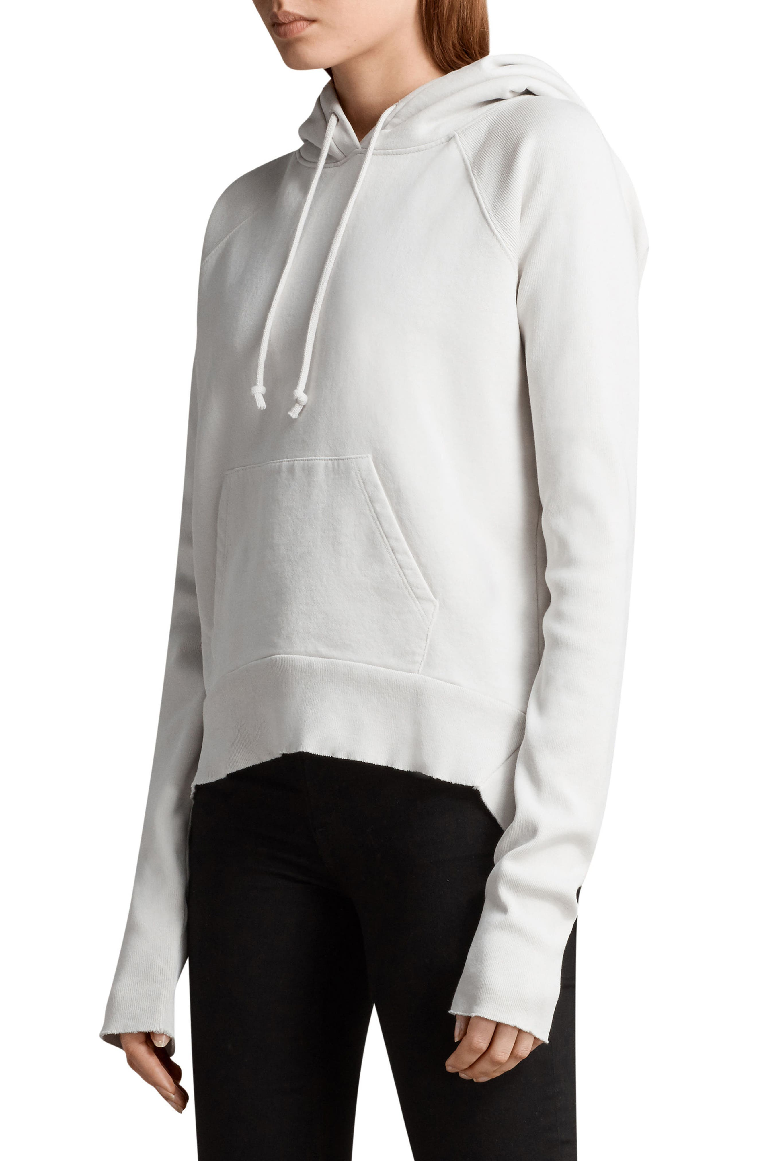 Ivy Hoodie,                             Alternate thumbnail 5, color,                             Ivory White