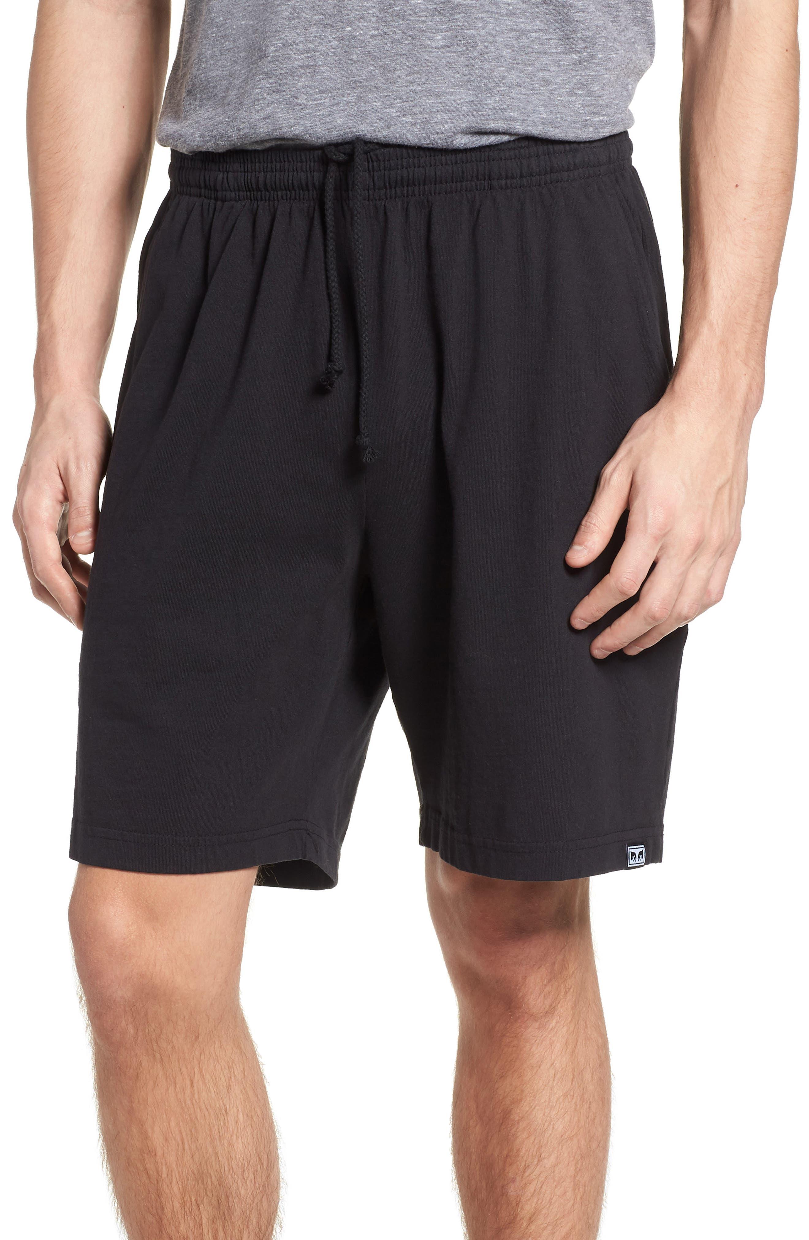 Eyes Heavyweight Sport Shorts,                         Main,                         color, Off Black