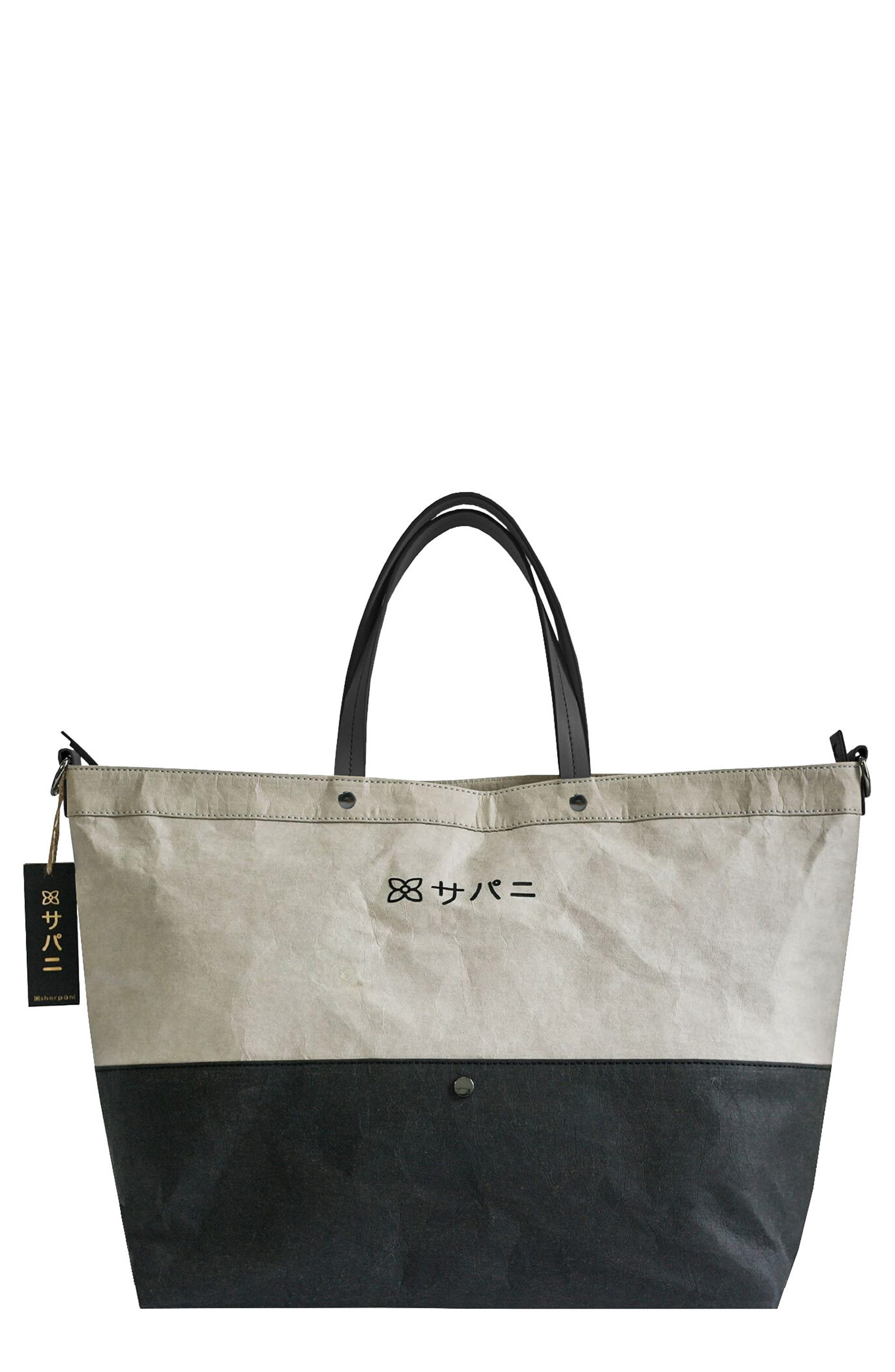 Mai Large Colorblock Tote,                             Main thumbnail 1, color,                             Stone