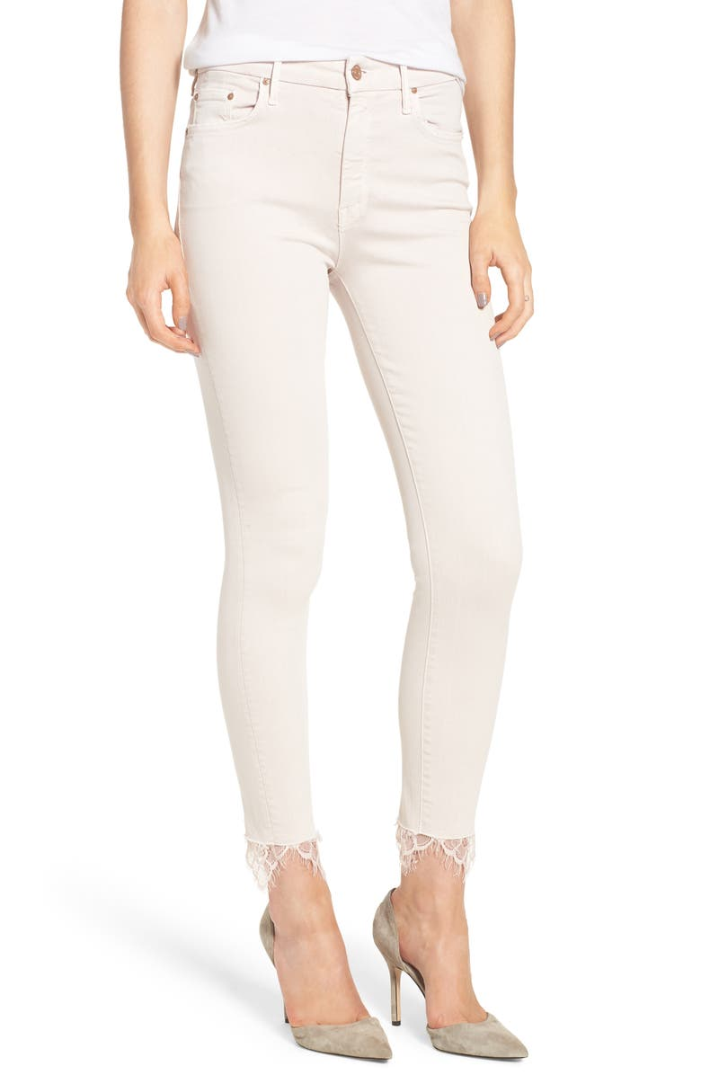 The Looker Dagger High Waist Ankle Skinny Jeans
