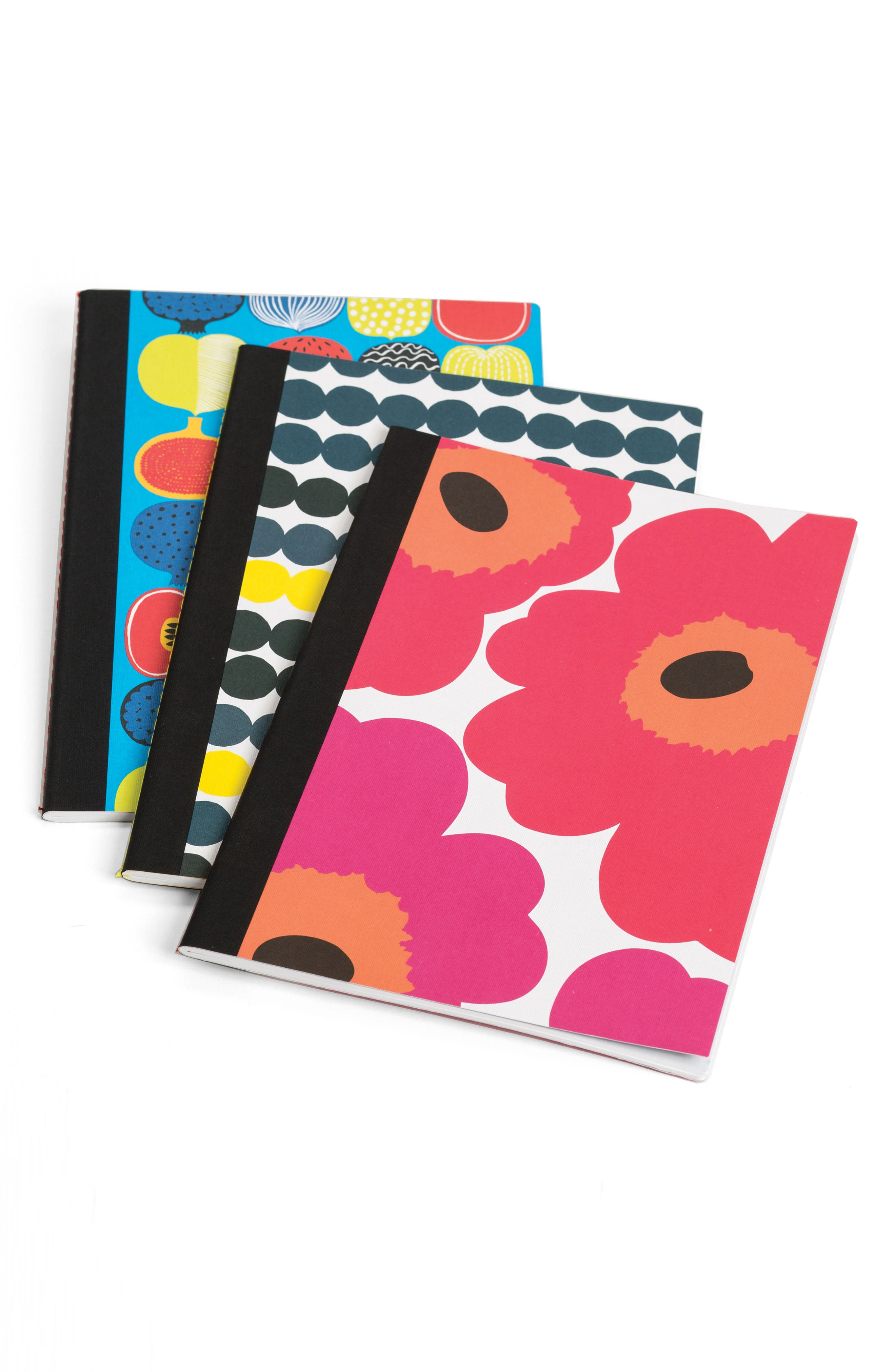 Marimekko Notebook Trio,                             Alternate thumbnail 2, color,                             Multi