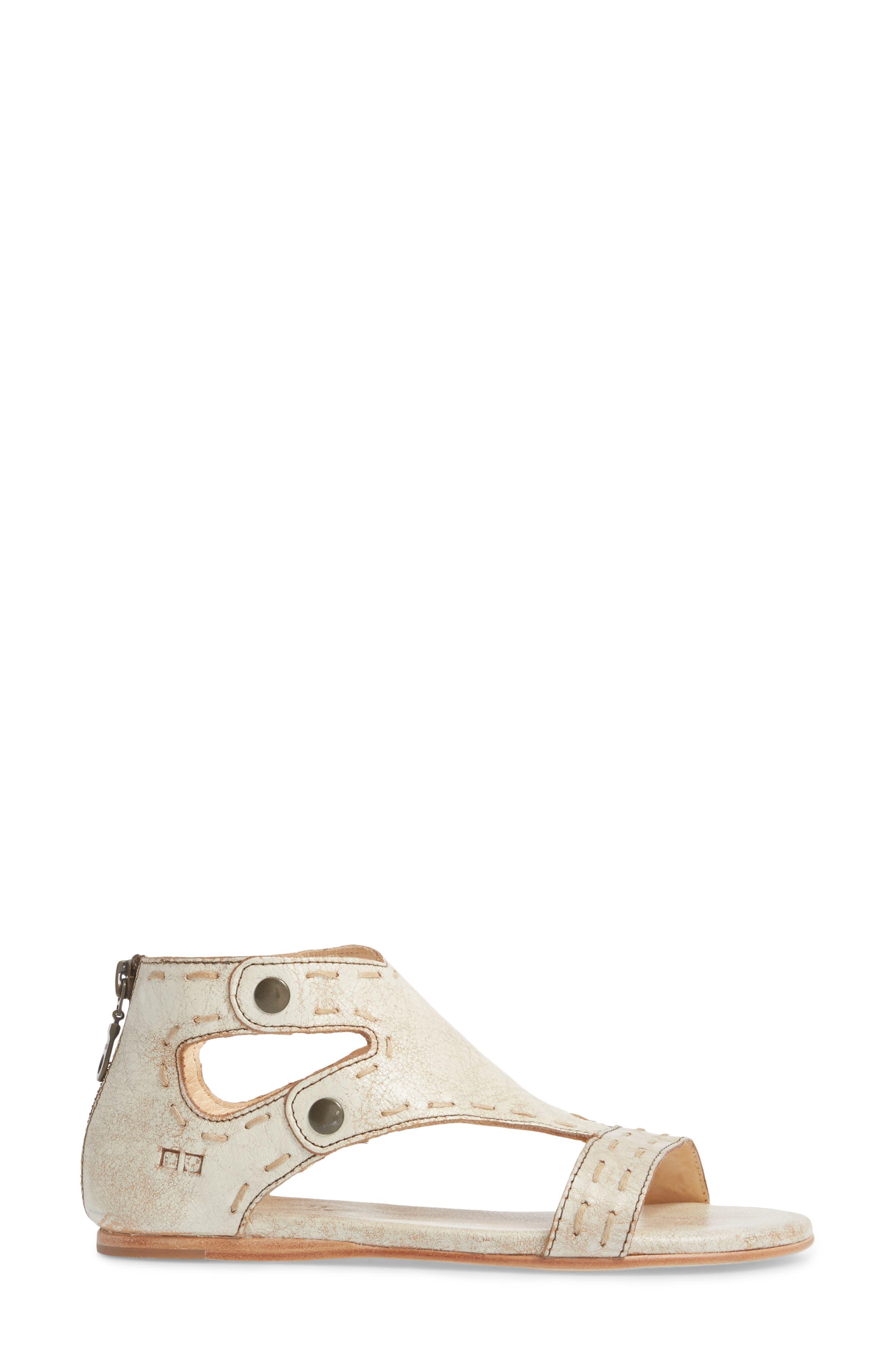 Soto Sandal,                             Alternate thumbnail 3, color,                             Nectar Leather