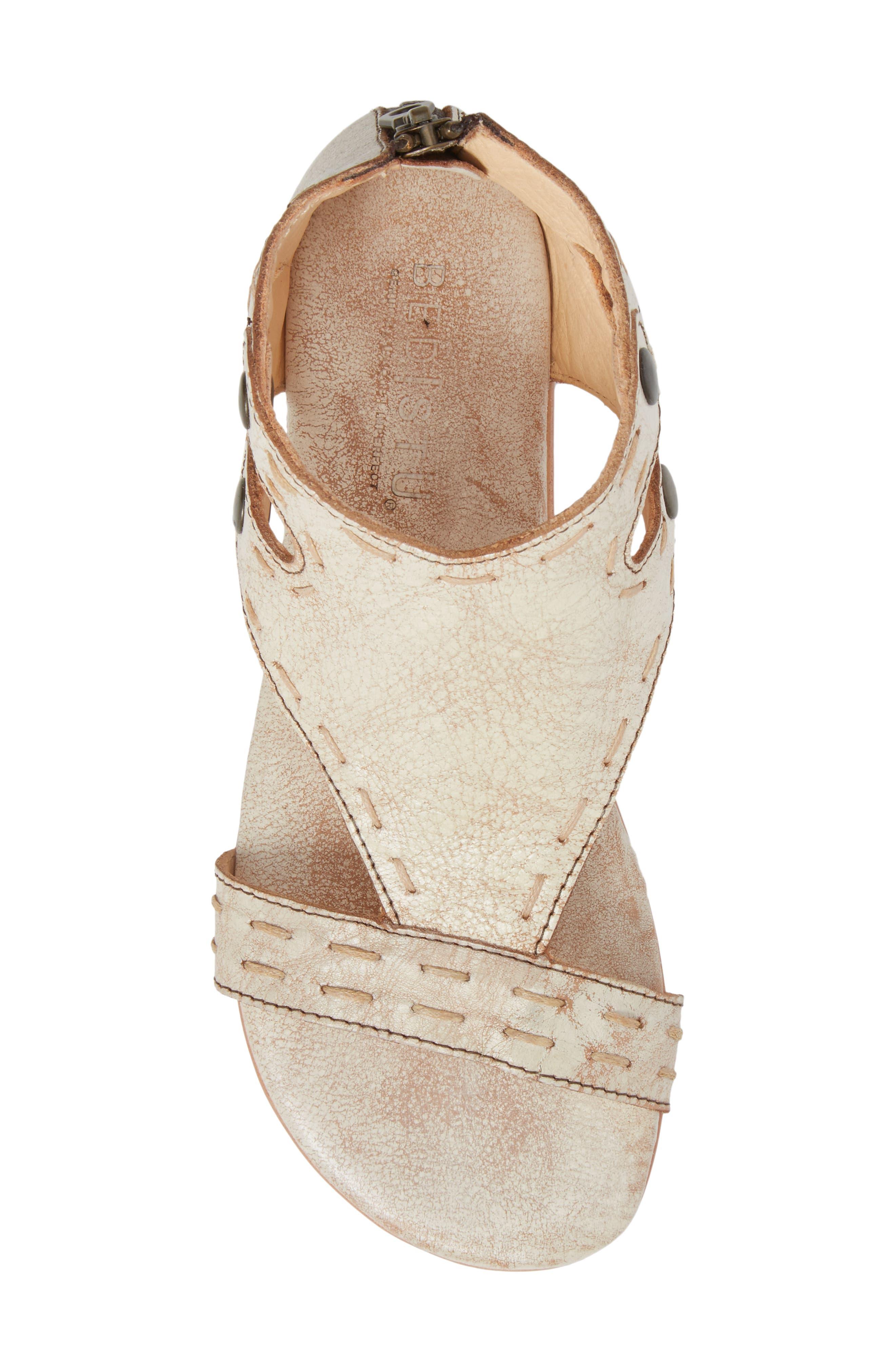 Soto Sandal,                             Alternate thumbnail 5, color,                             Nectar Leather