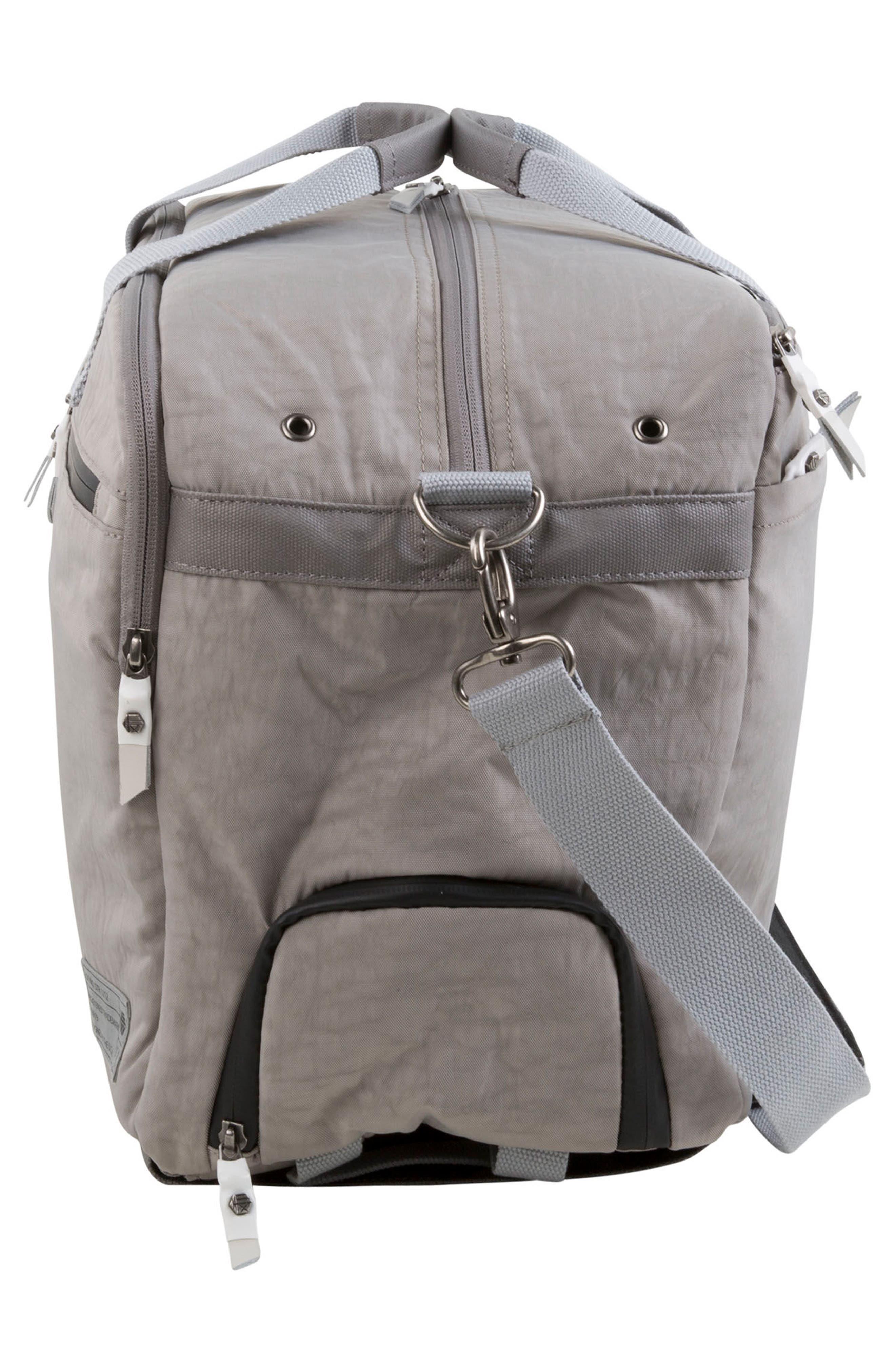 Calibre Convertible Duffel Bag,                             Alternate thumbnail 5, color,                             Strata Grey
