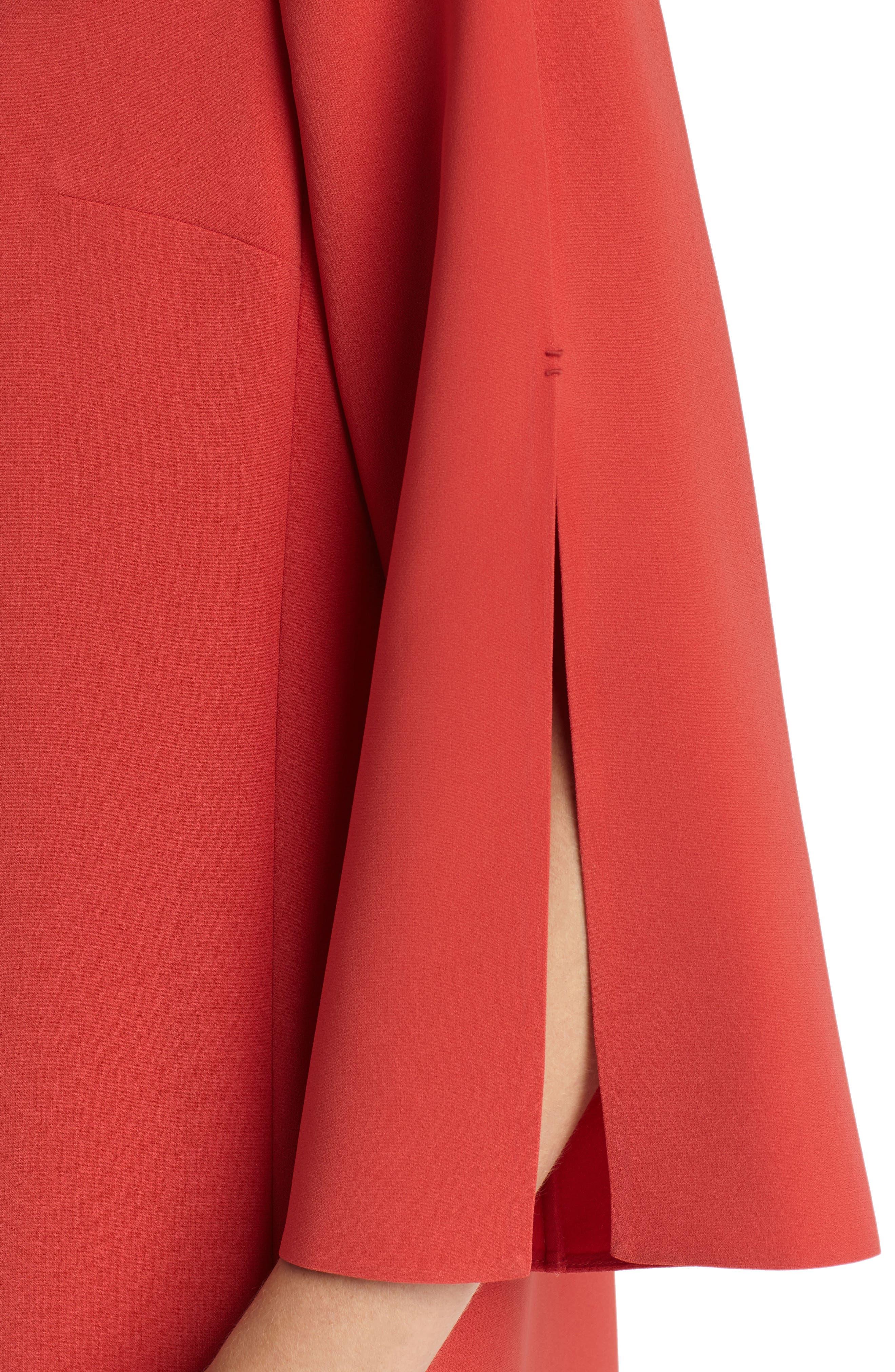Alternate Image 3  - Lafayette 148 New York Candace Finesse Crepe Shift Dress