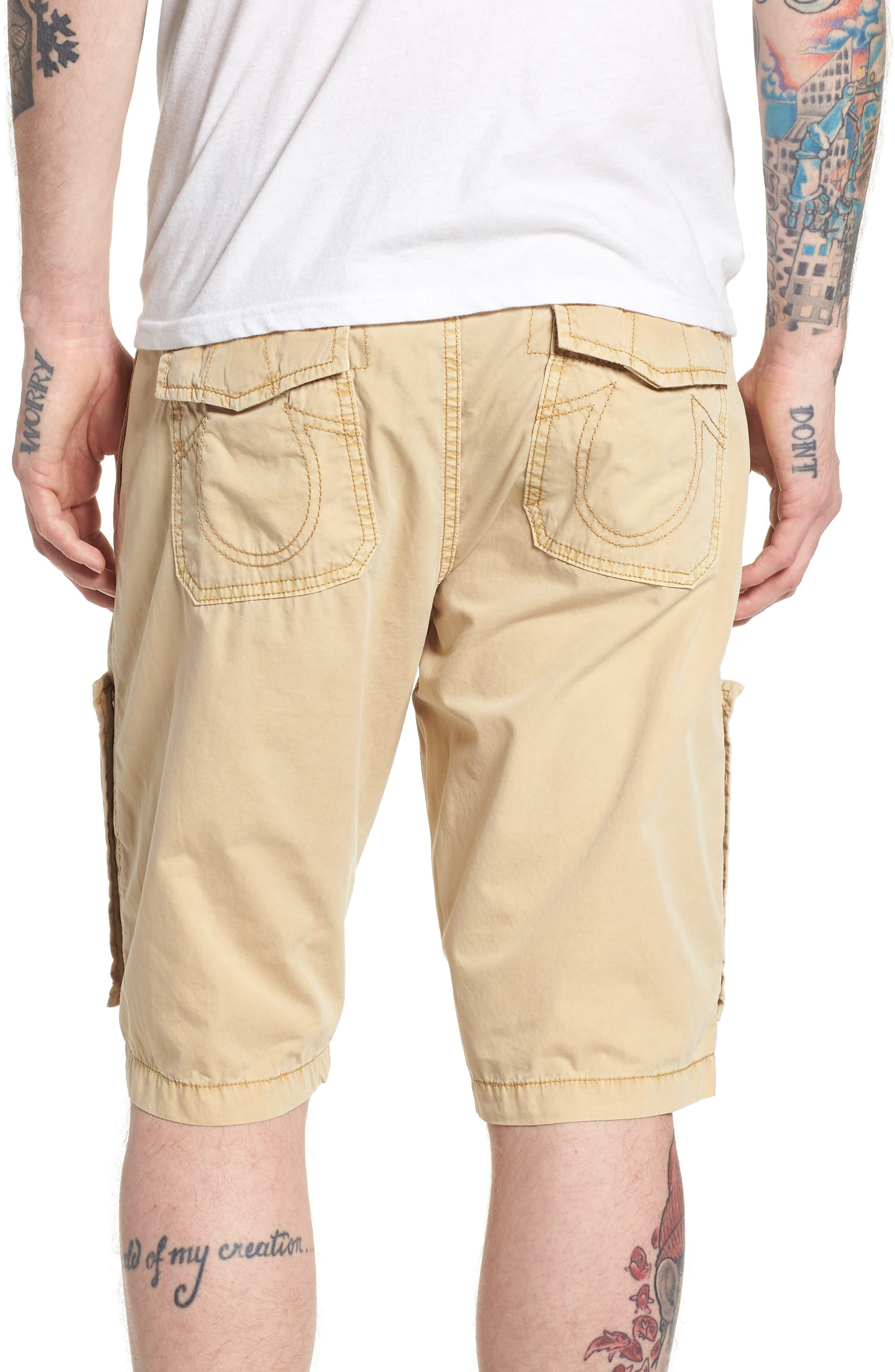 Alternate Image 2  - True Religion Brand Jeans Officer Field Shorts