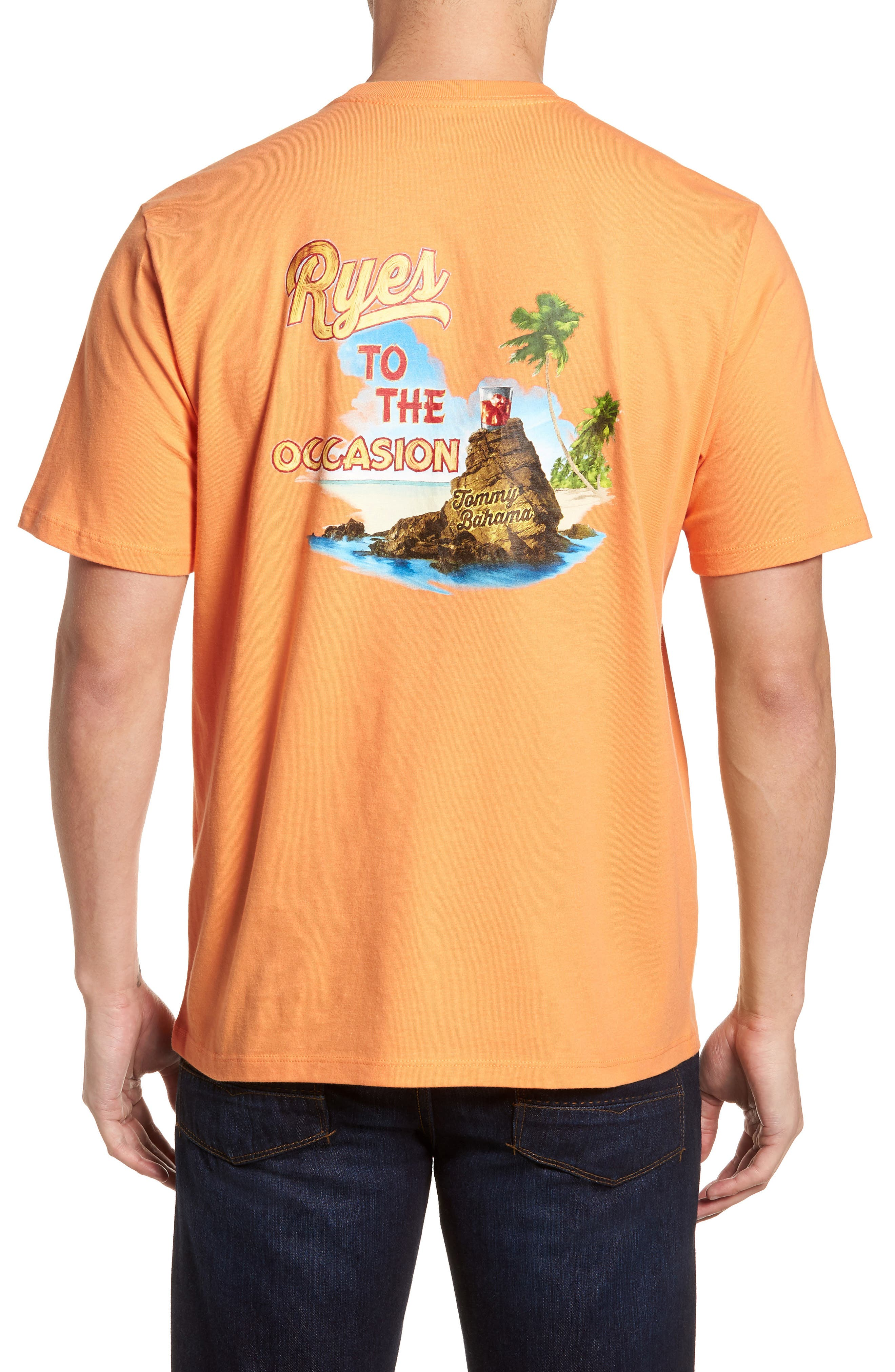 Ryes to the Occasion T-Shirt,                             Alternate thumbnail 2, color,                             Bright Apricot