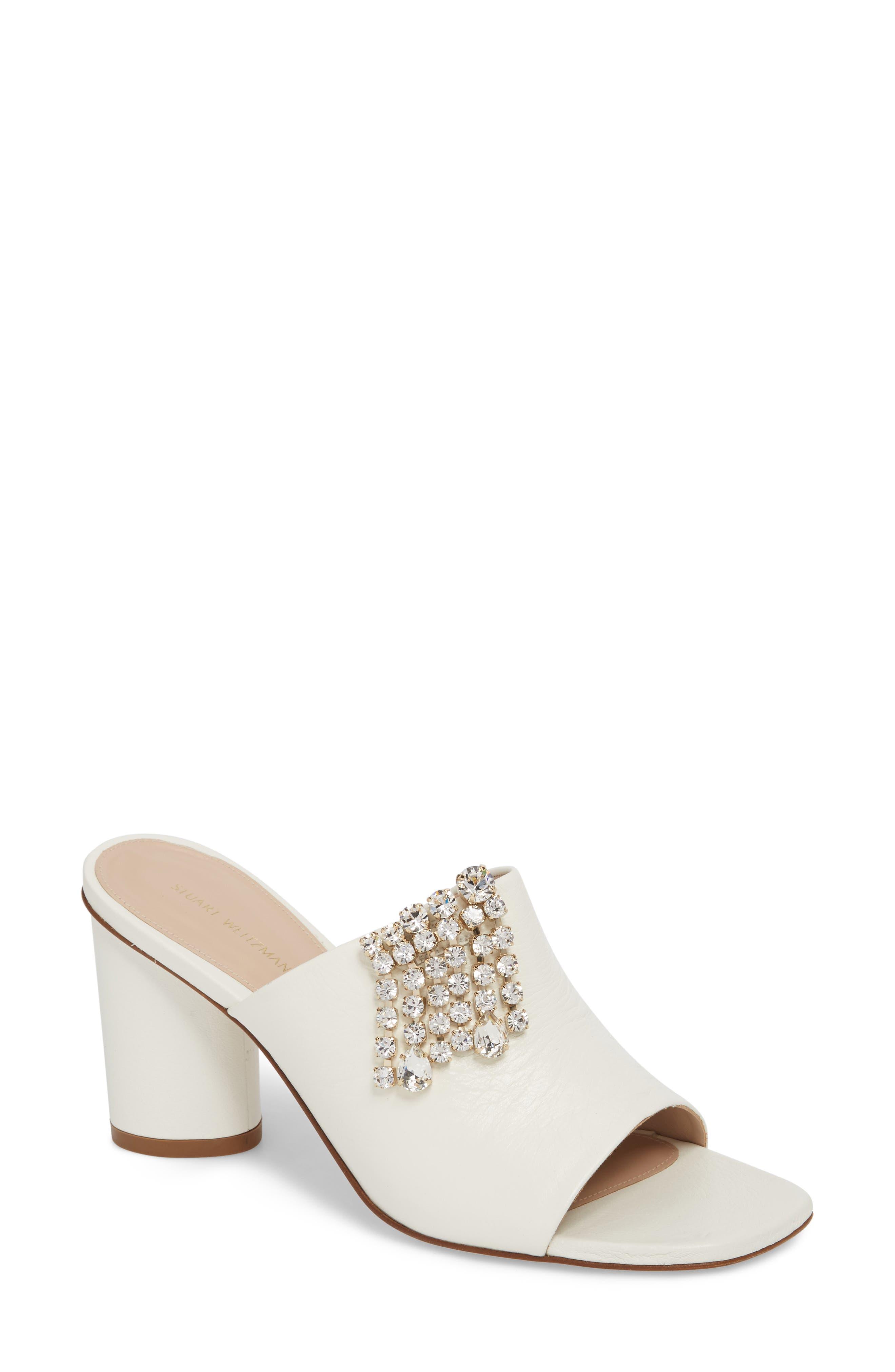 Theone Sandal,                         Main,                         color, White Alpean