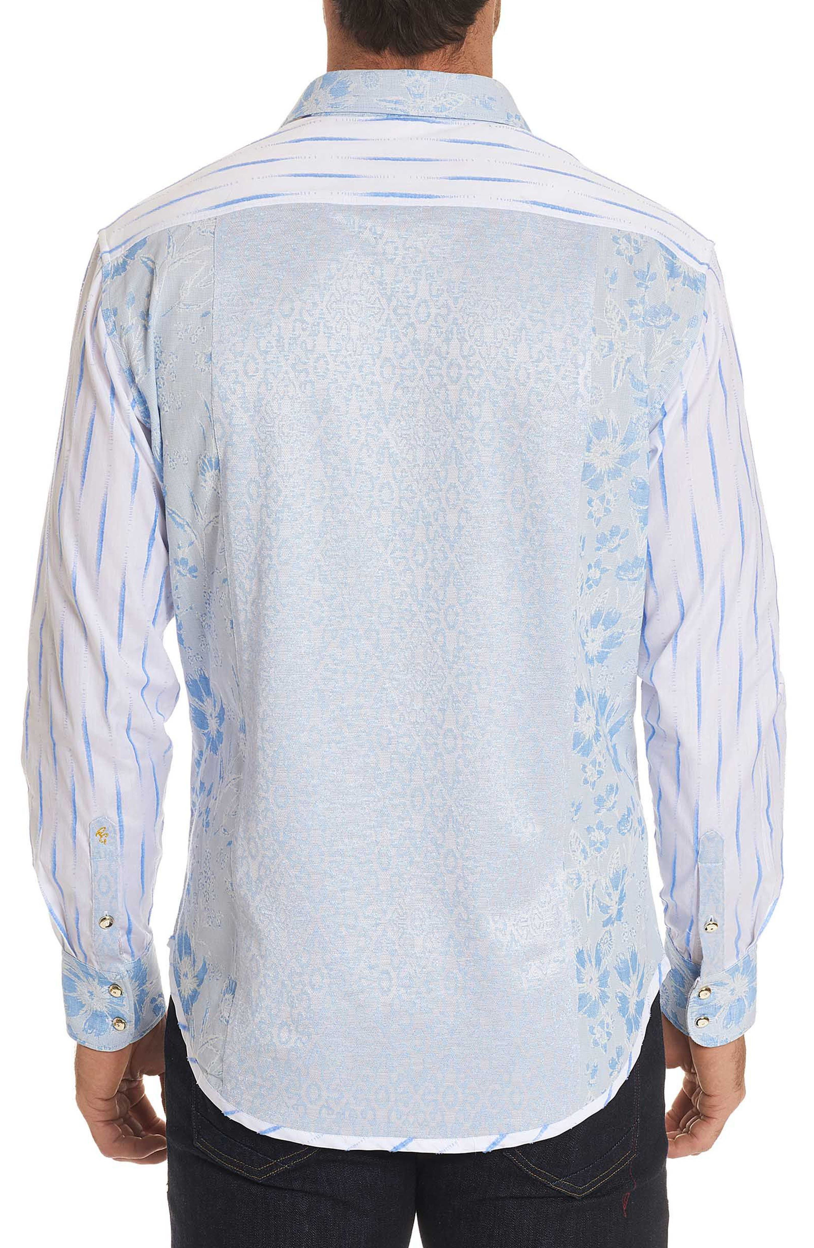 Ryan Limited Edition Classic Fit Sport Shirt,                             Alternate thumbnail 2, color,                             Blue