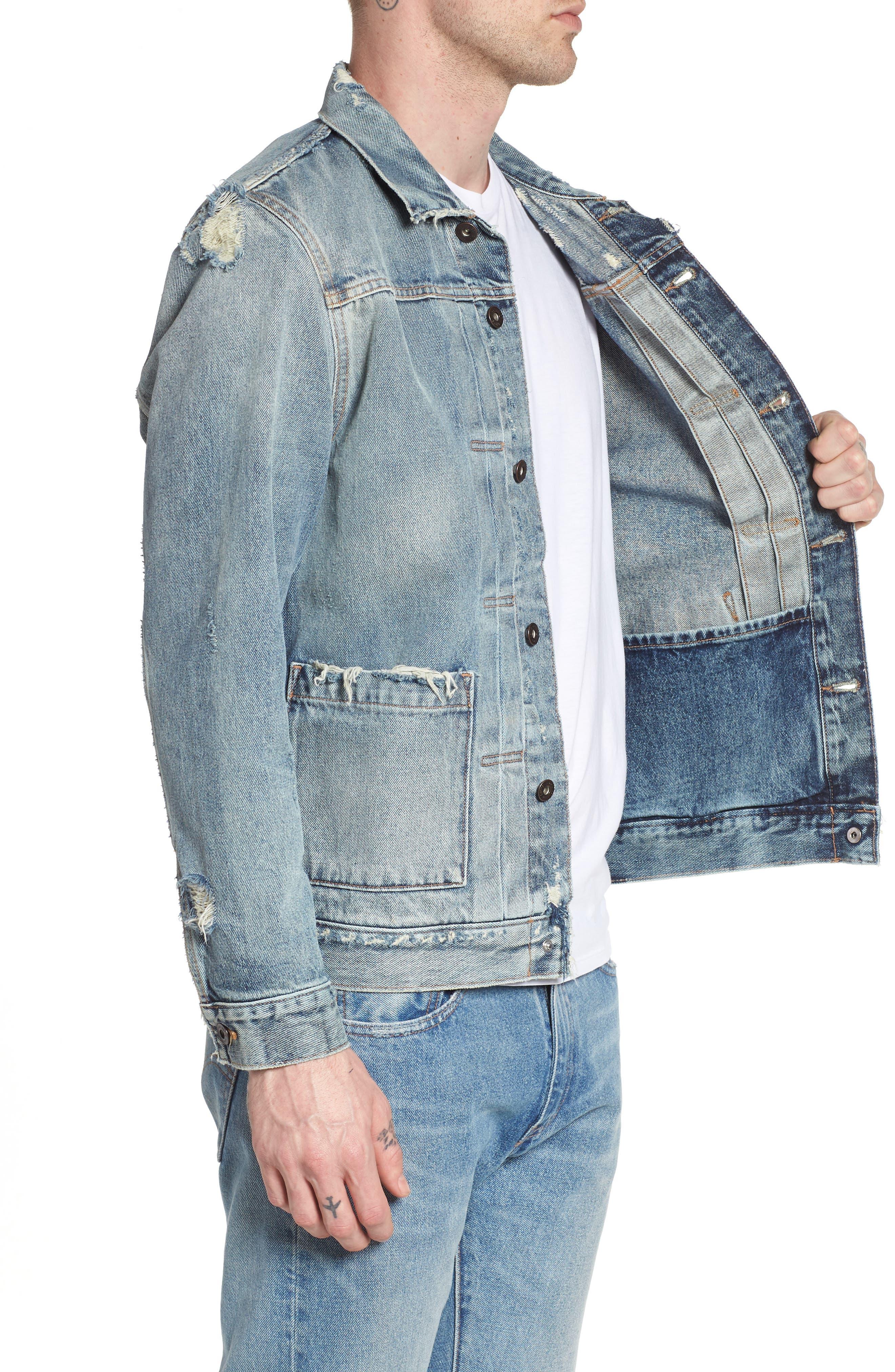 Type II Standard Fit Jacket,                             Alternate thumbnail 3, color,                             Trashed
