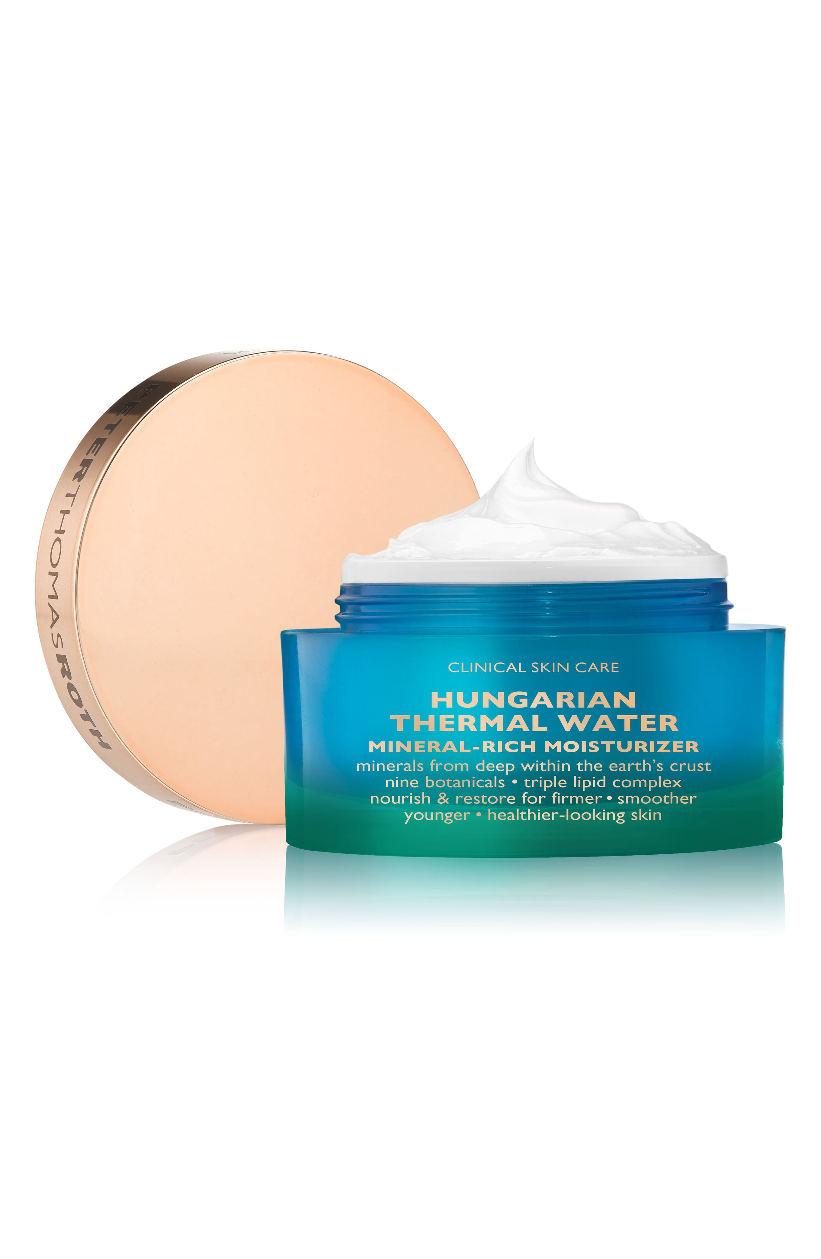 Hungarian Thermal Water Mineral-Rich Moisturizer,                             Alternate thumbnail 3, color,                             No Color