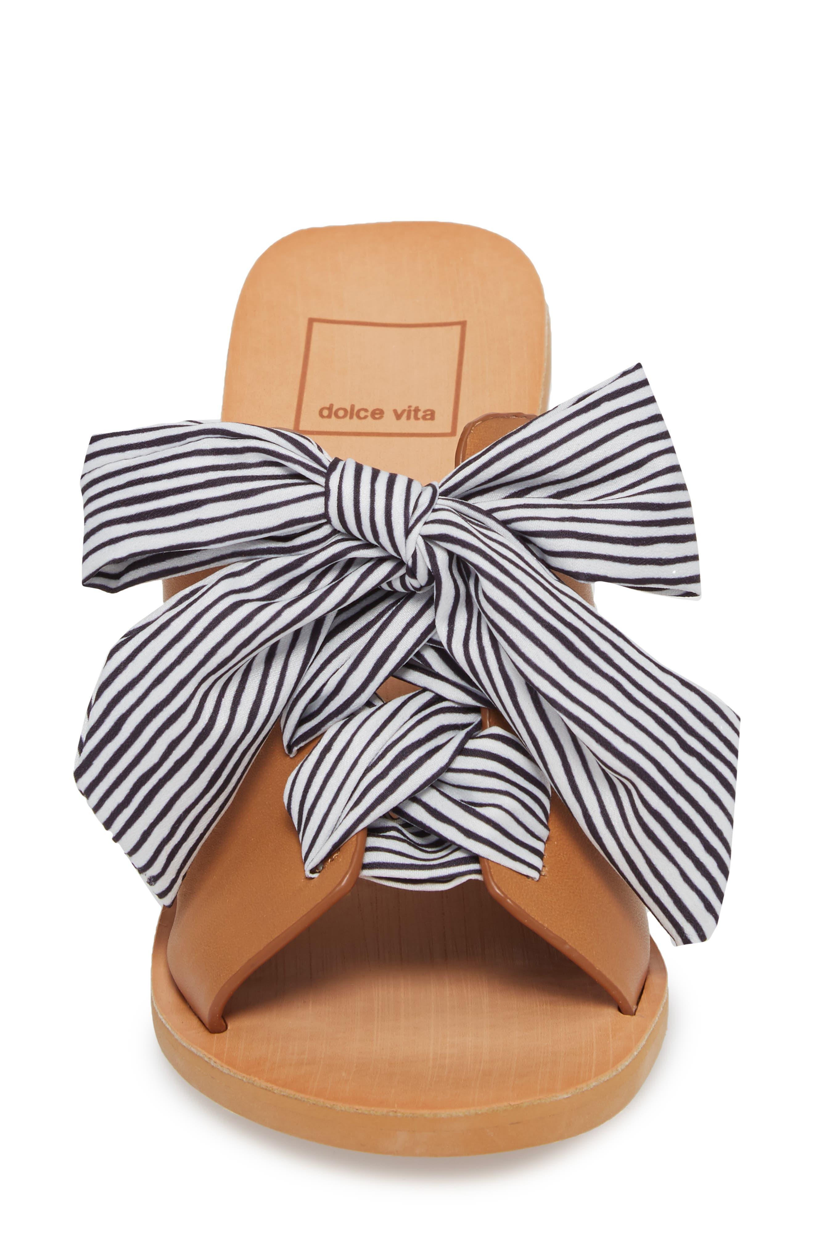 Amber Lace-Up Sandal,                             Alternate thumbnail 4, color,                             Caramel Leather