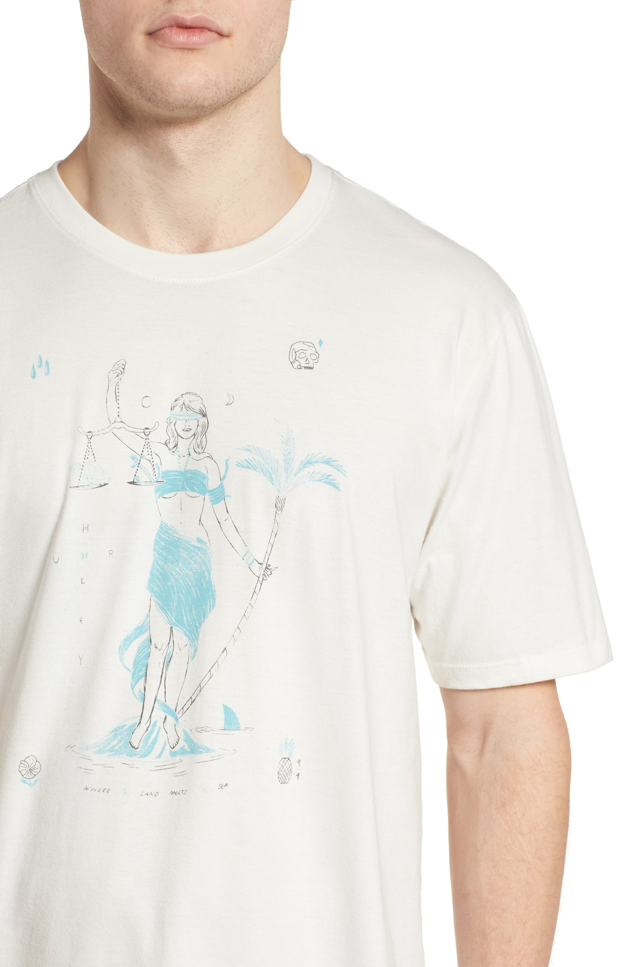 Siren T-Shirt,                             Alternate thumbnail 4, color,                             Sail