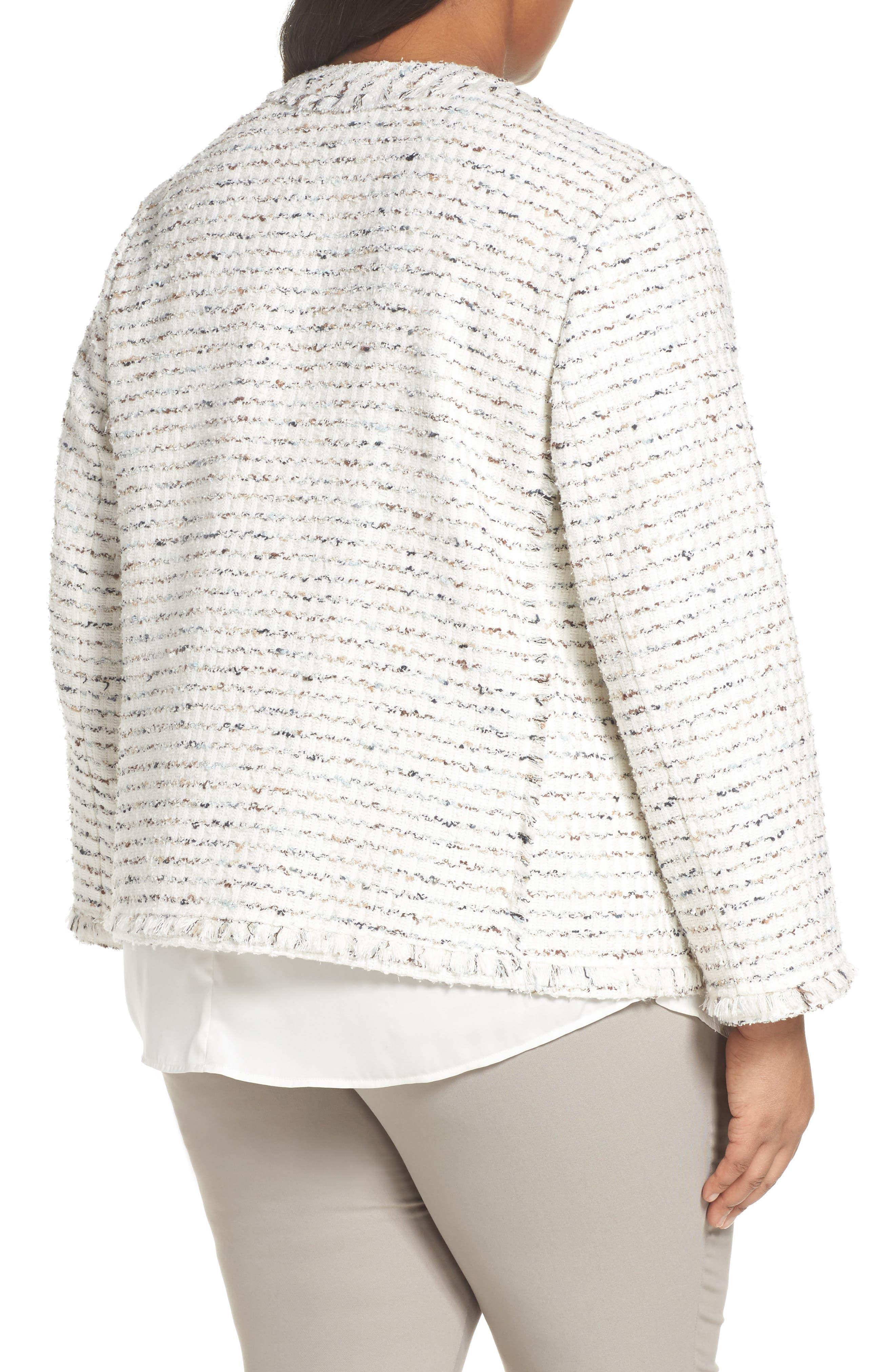 Kennedy Tweed Jacket,                             Alternate thumbnail 2, color,                             Cloud Multi