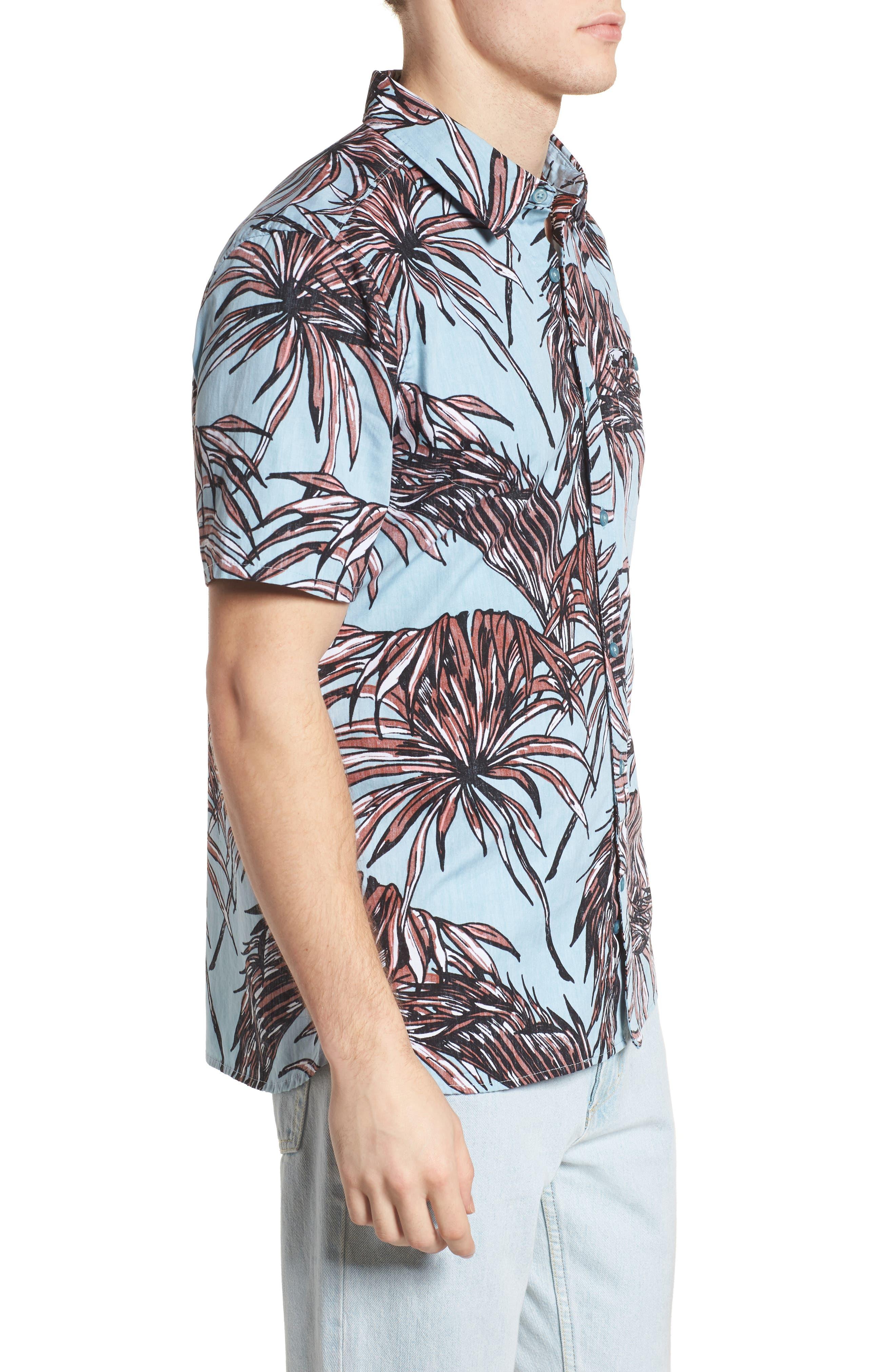 Koko Shirt,                             Alternate thumbnail 4, color,                             Ocean Bliss