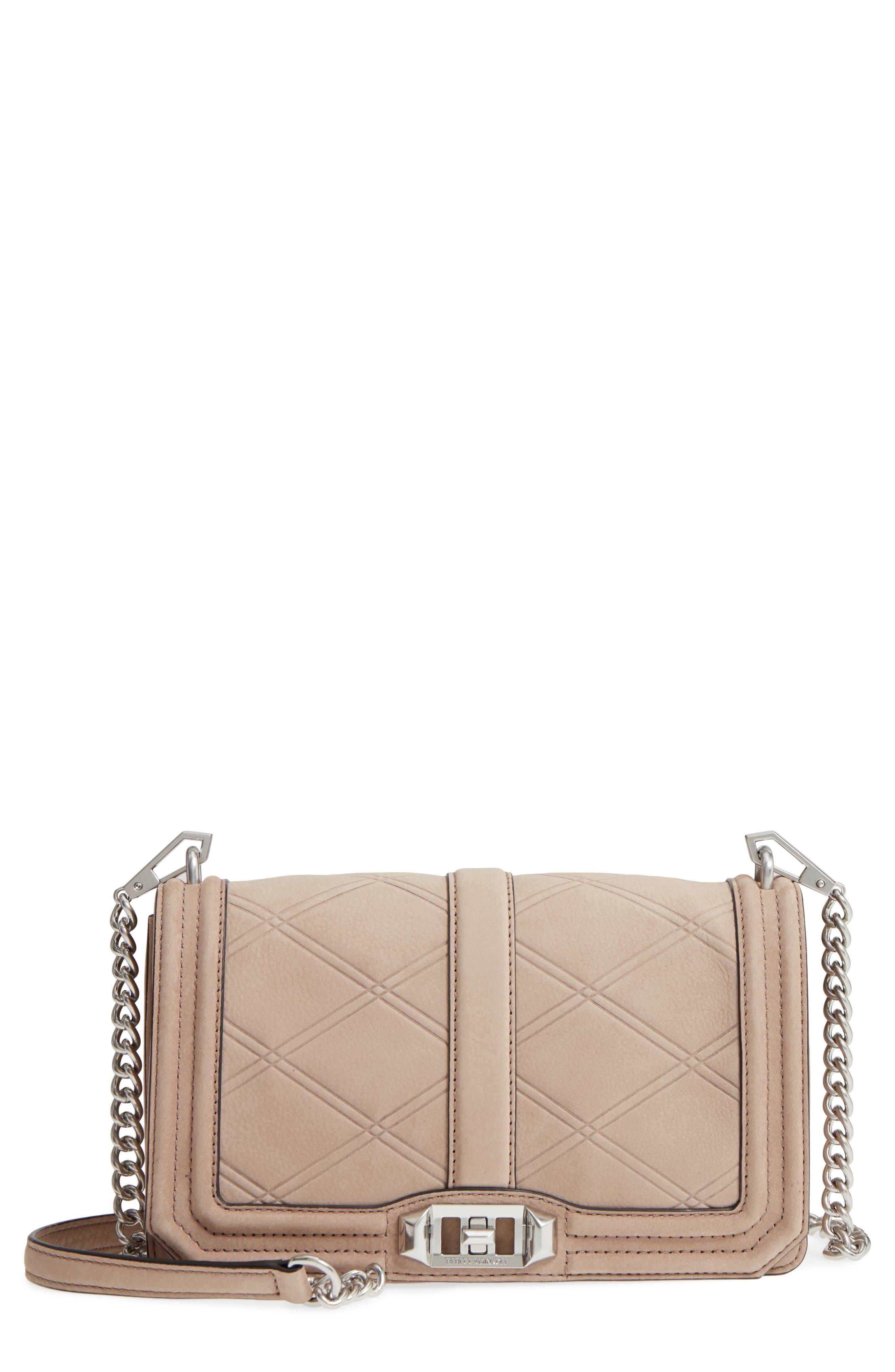 Rebecca Minkoff Love Tooled Leather Crossbody Bag