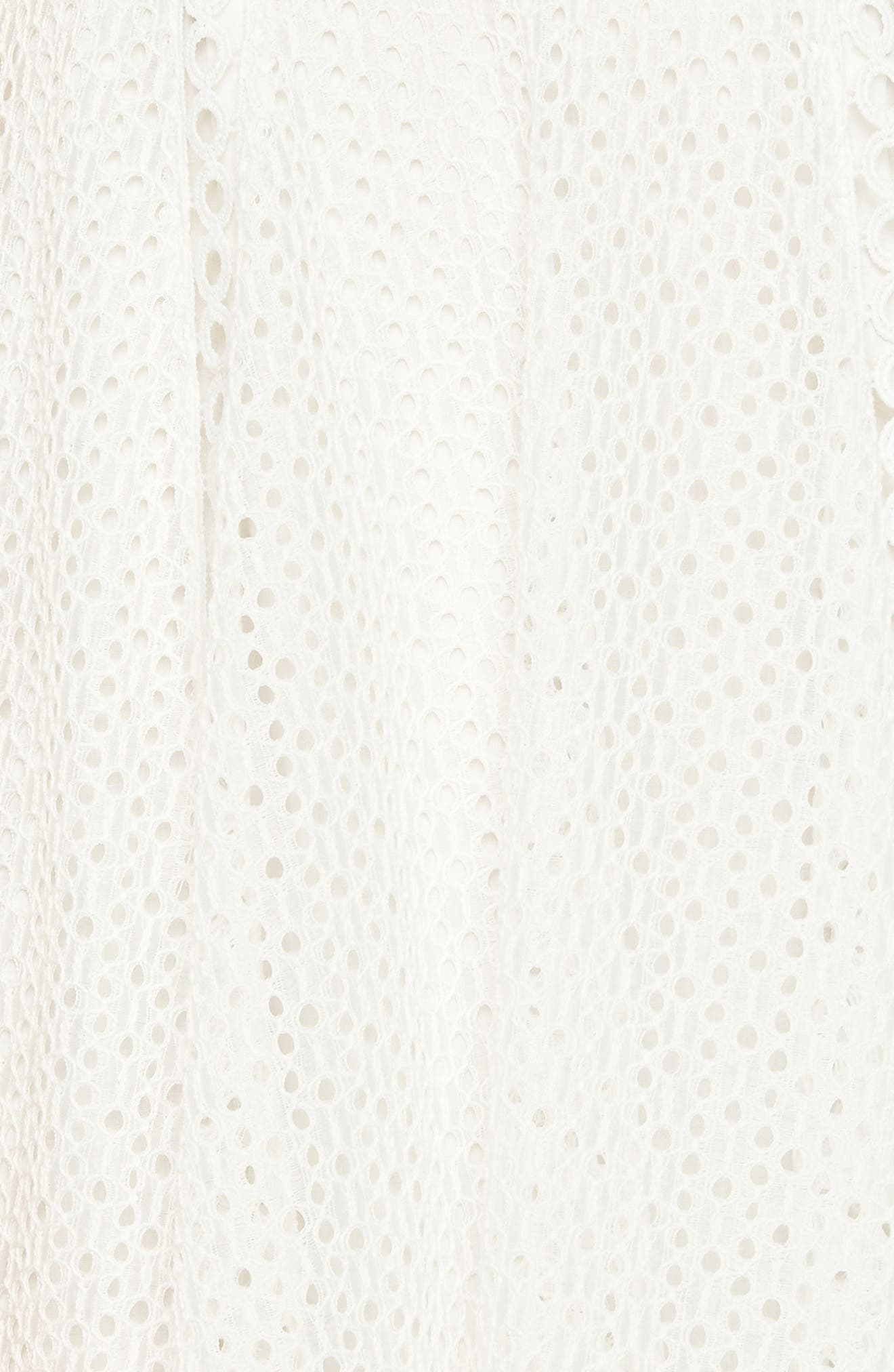 Elias Lace Dress,                             Alternate thumbnail 4, color,                             Ivory