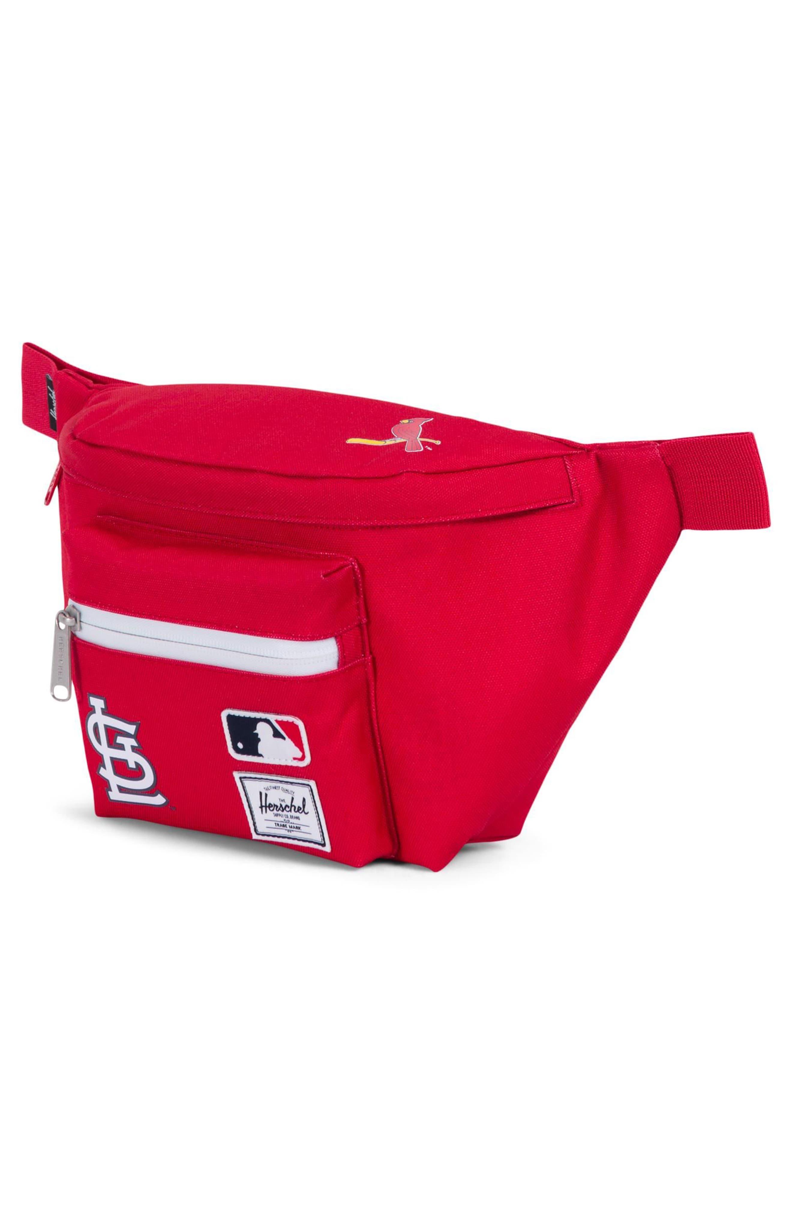 MLB National League Hip Pack,                             Alternate thumbnail 2, color,                             St Louis Cardinals