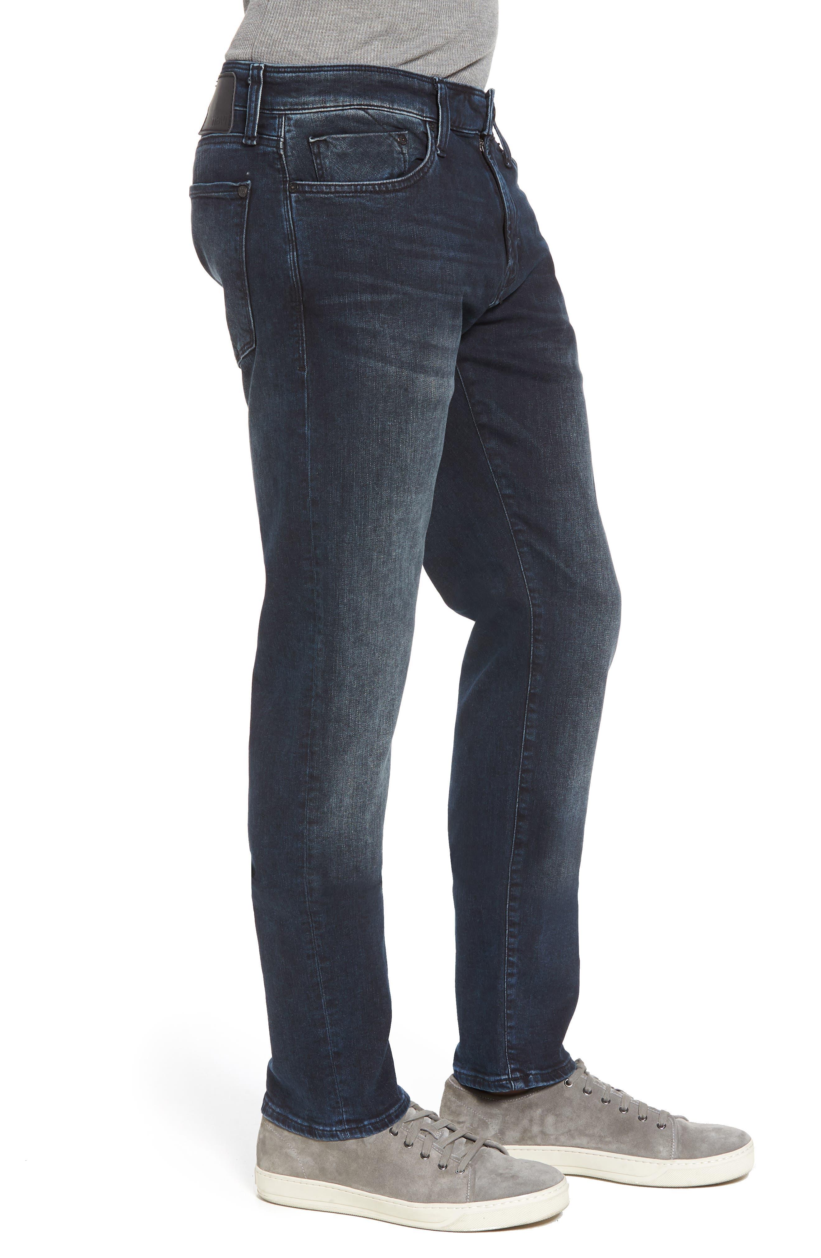 Jake Slim Fit Jeans,                             Alternate thumbnail 3, color,                             Ink Used Authentic Vintage
