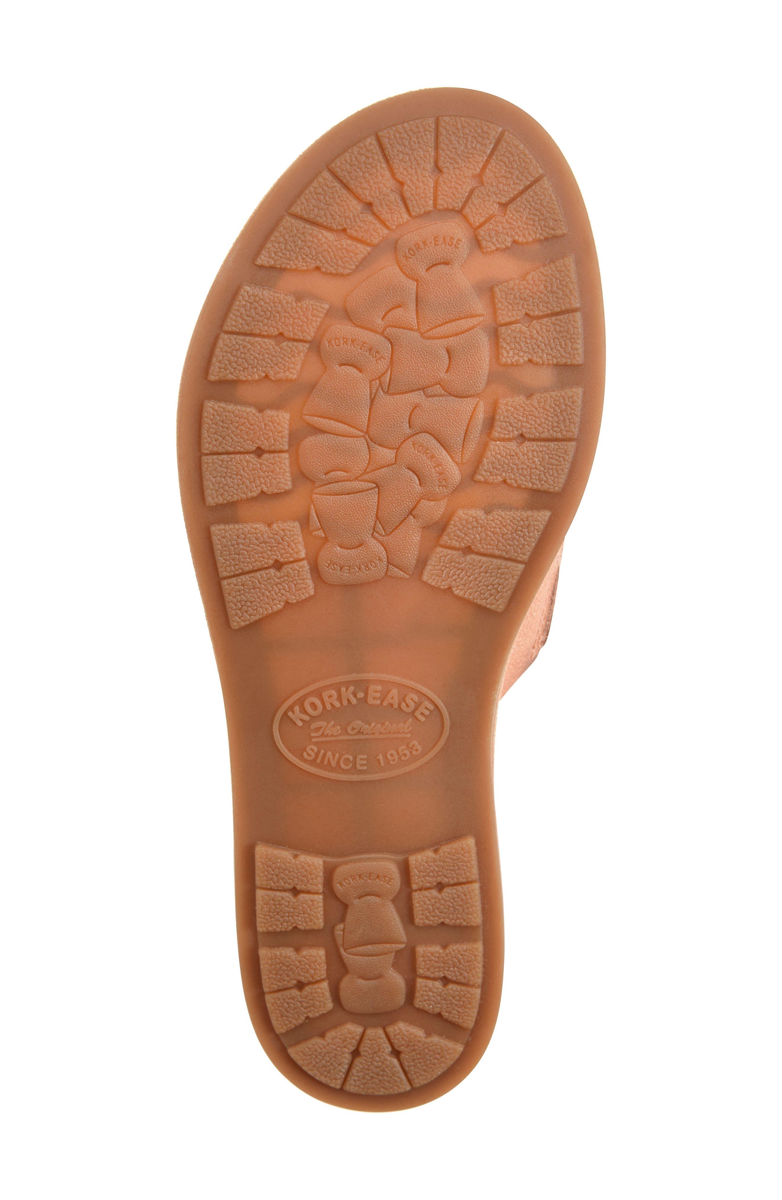 Gila Slide Sandal,                             Alternate thumbnail 6, color,                             Blush Leather