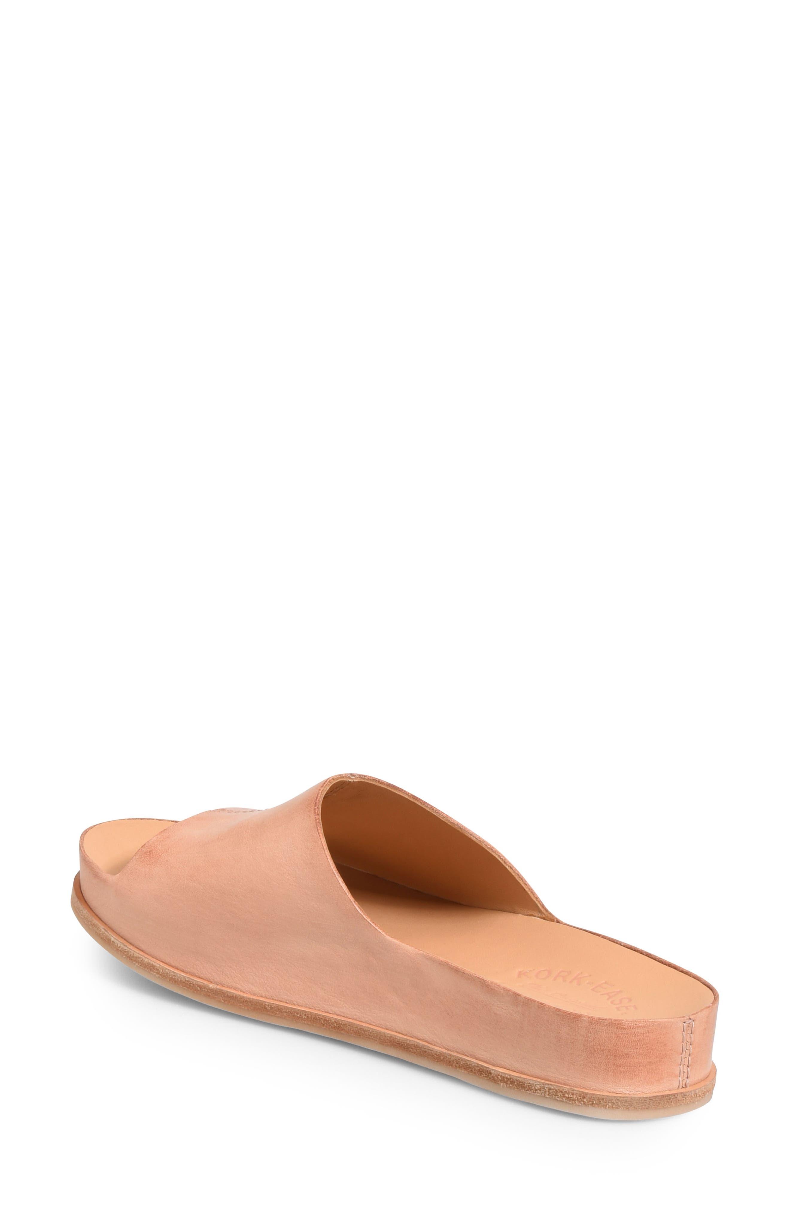 'Tutsi' Slide Sandal,                             Alternate thumbnail 2, color,                             Blush Leather