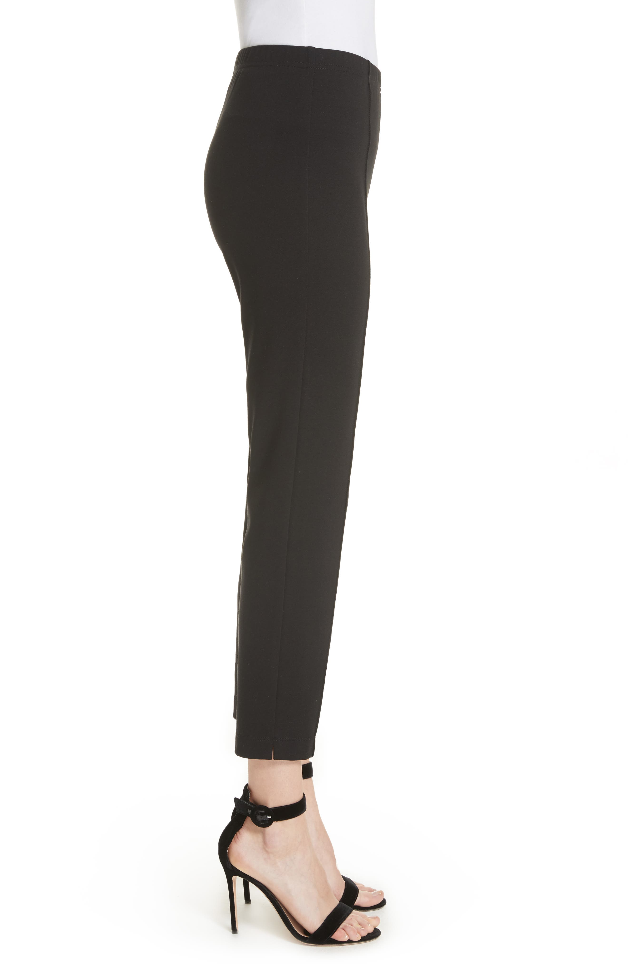 Alternate Image 3  - St. John Collection Ponte Knit Ankle Pants