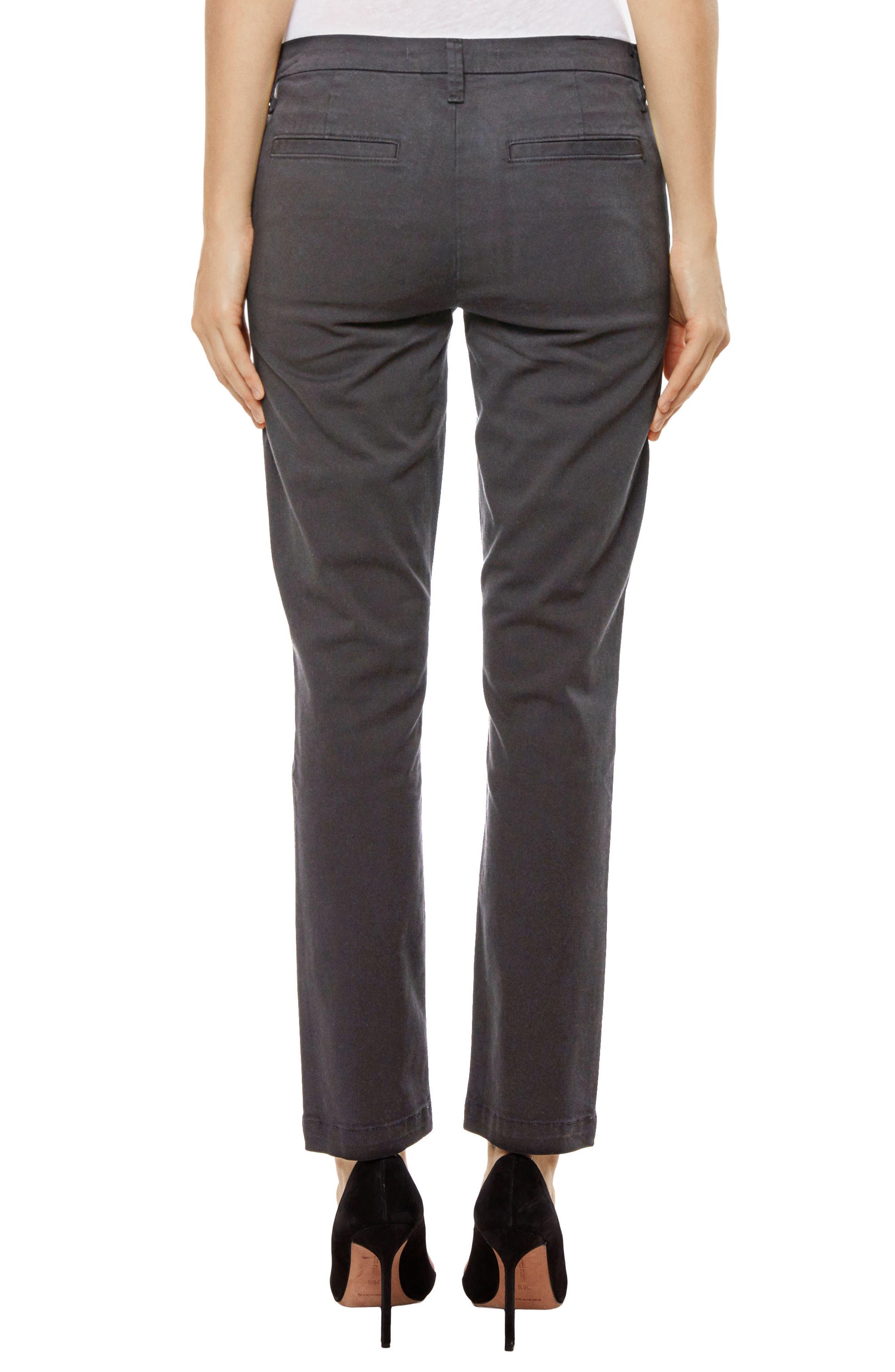 Clara Ankle Trousers,                             Alternate thumbnail 2, color,                             Zinc