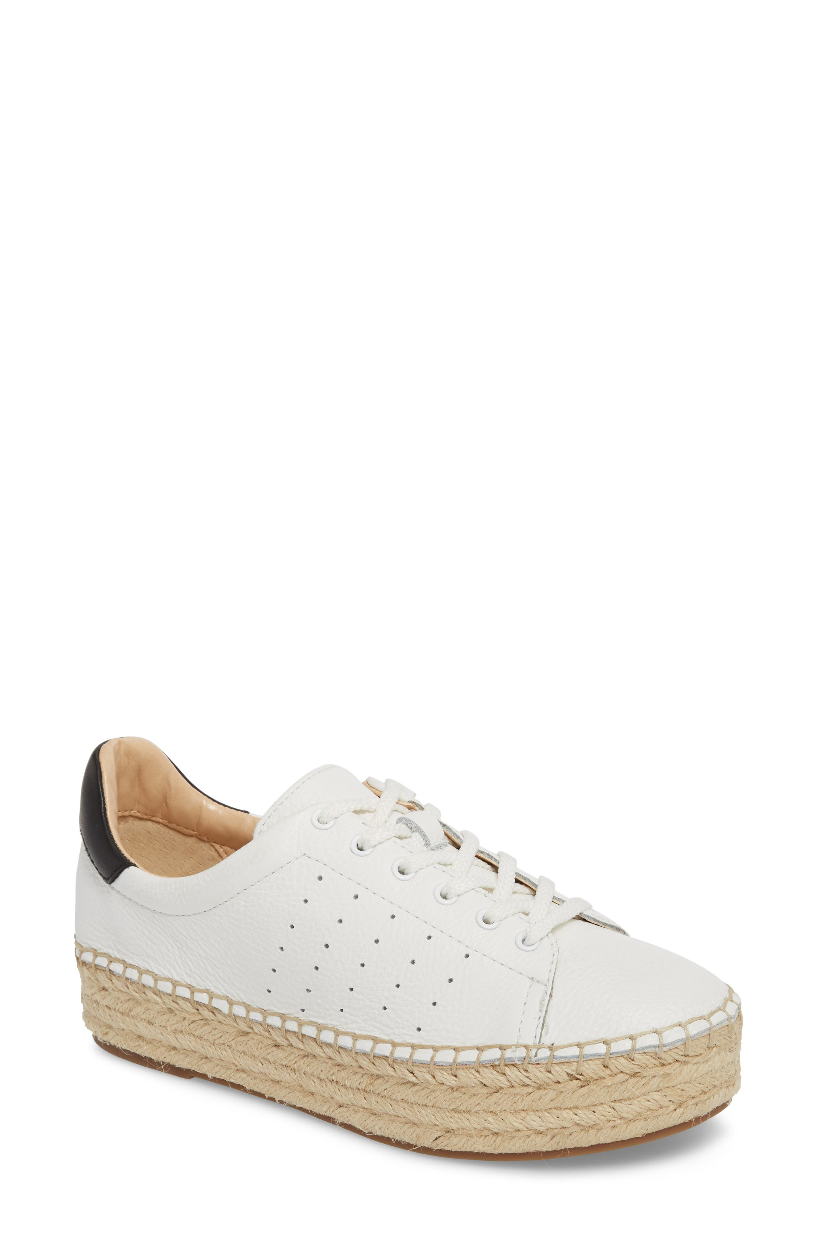 Jinnie Espadrille Sneaker,                             Main thumbnail 1, color,                             Picket Fence