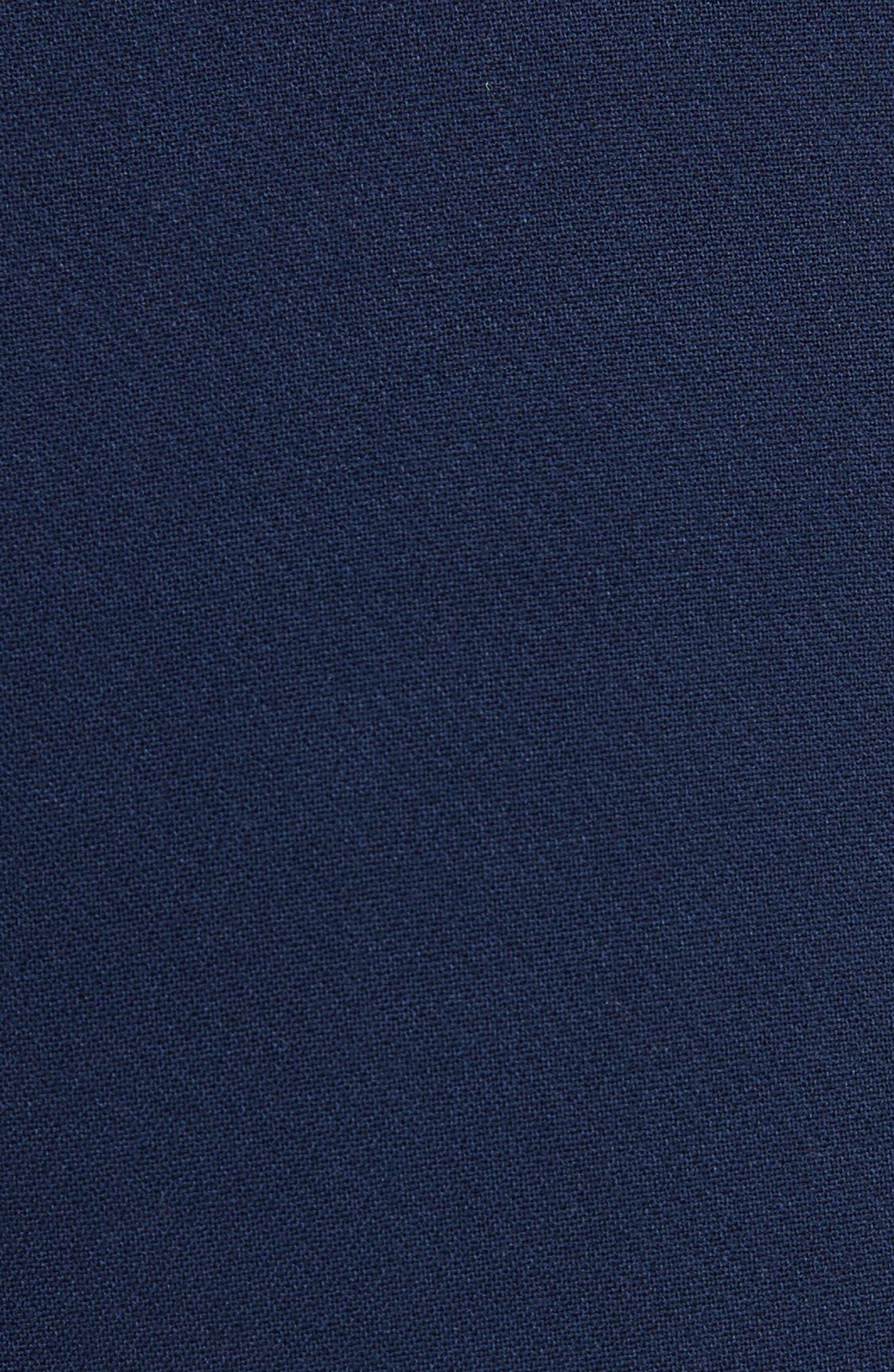Donald High Waist Sailor Shorts,                             Alternate thumbnail 5, color,                             Sapphire