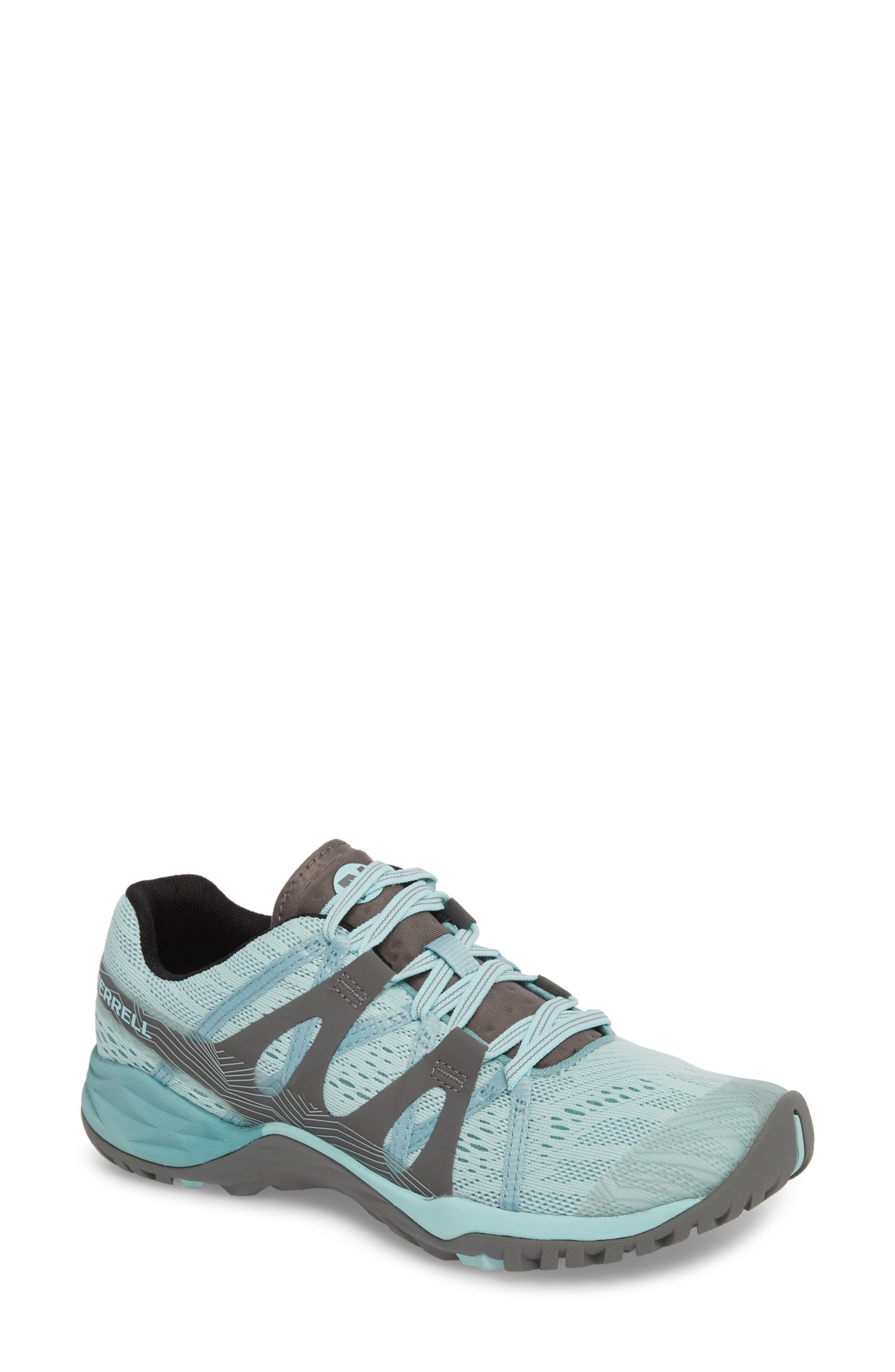 Siren Hex Sneaker,                             Main thumbnail 1, color,                             Bleached Aqua