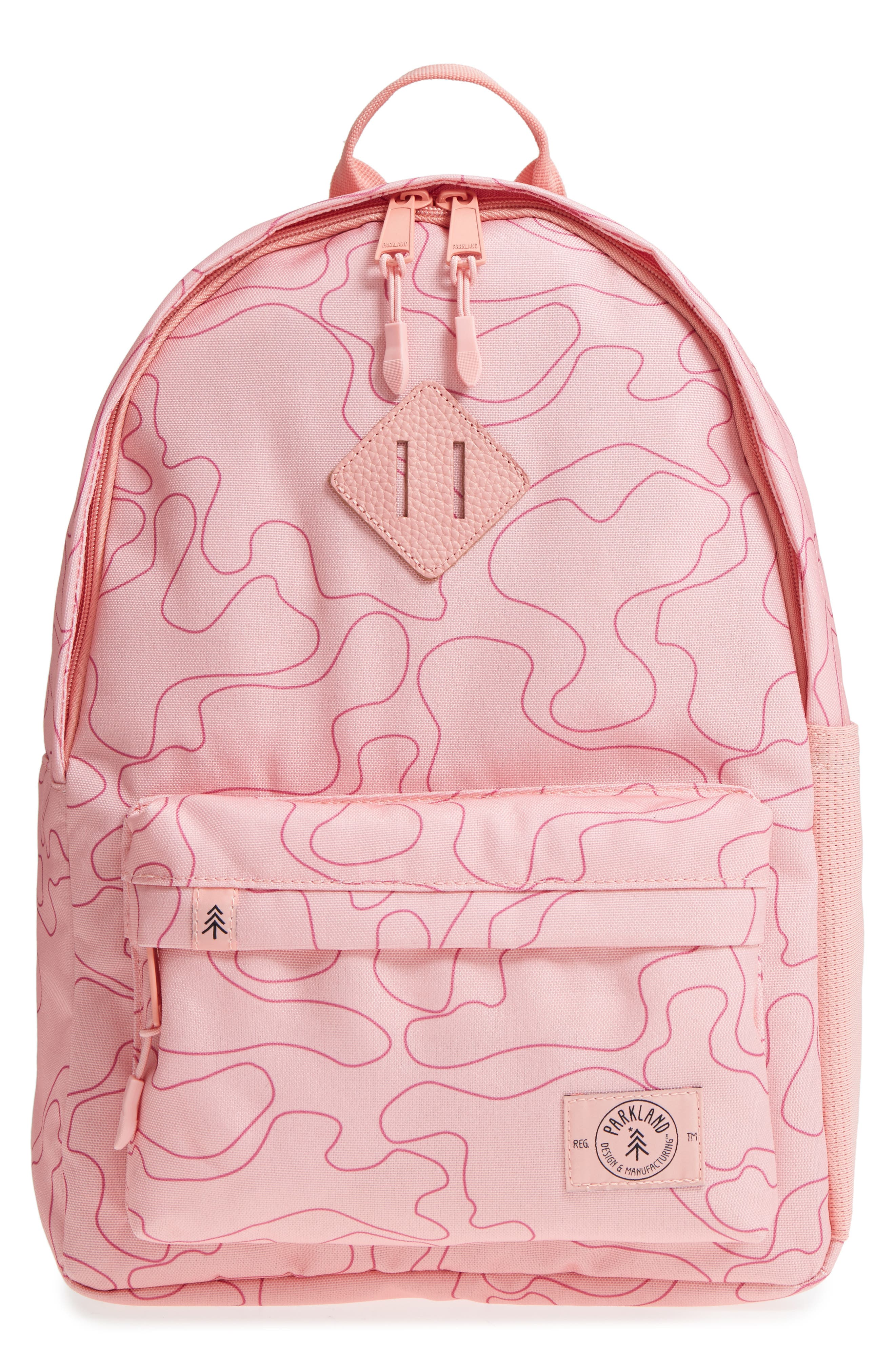 Bayside Shadow Camo Backpack,                             Main thumbnail 1, color,                             Shadow Camo Girls