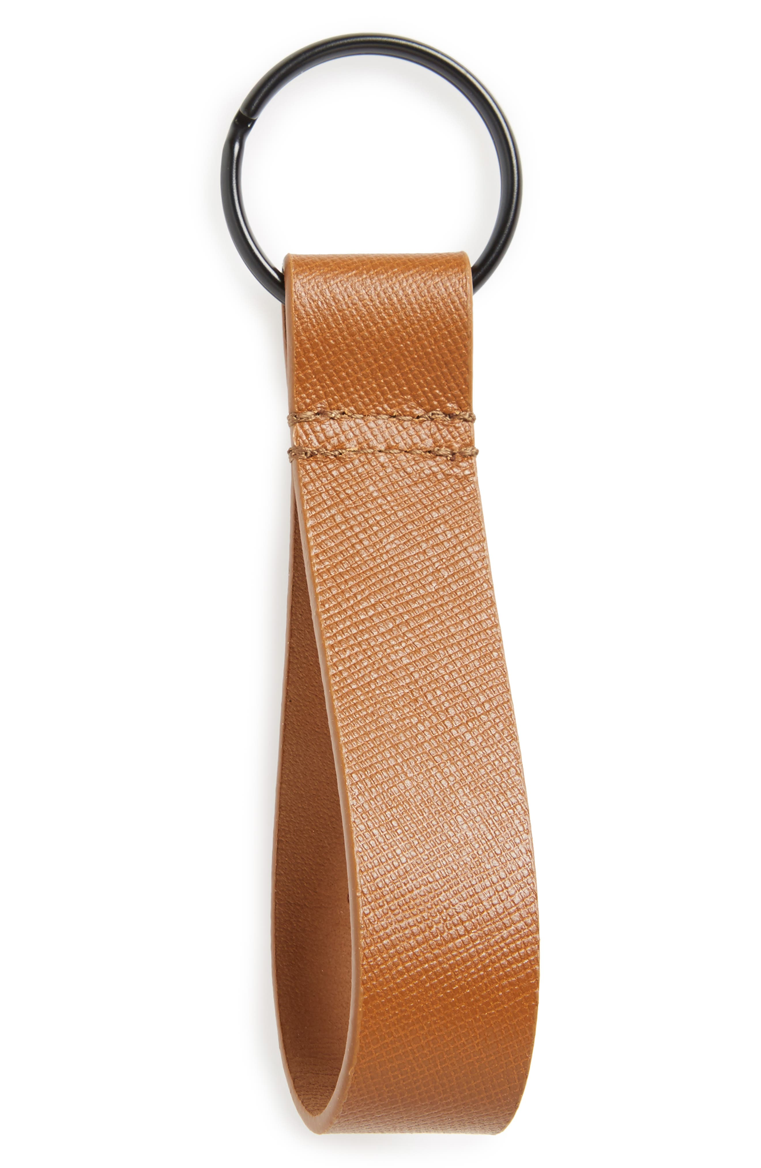 Common Projects Saffiano Leather Key Ring