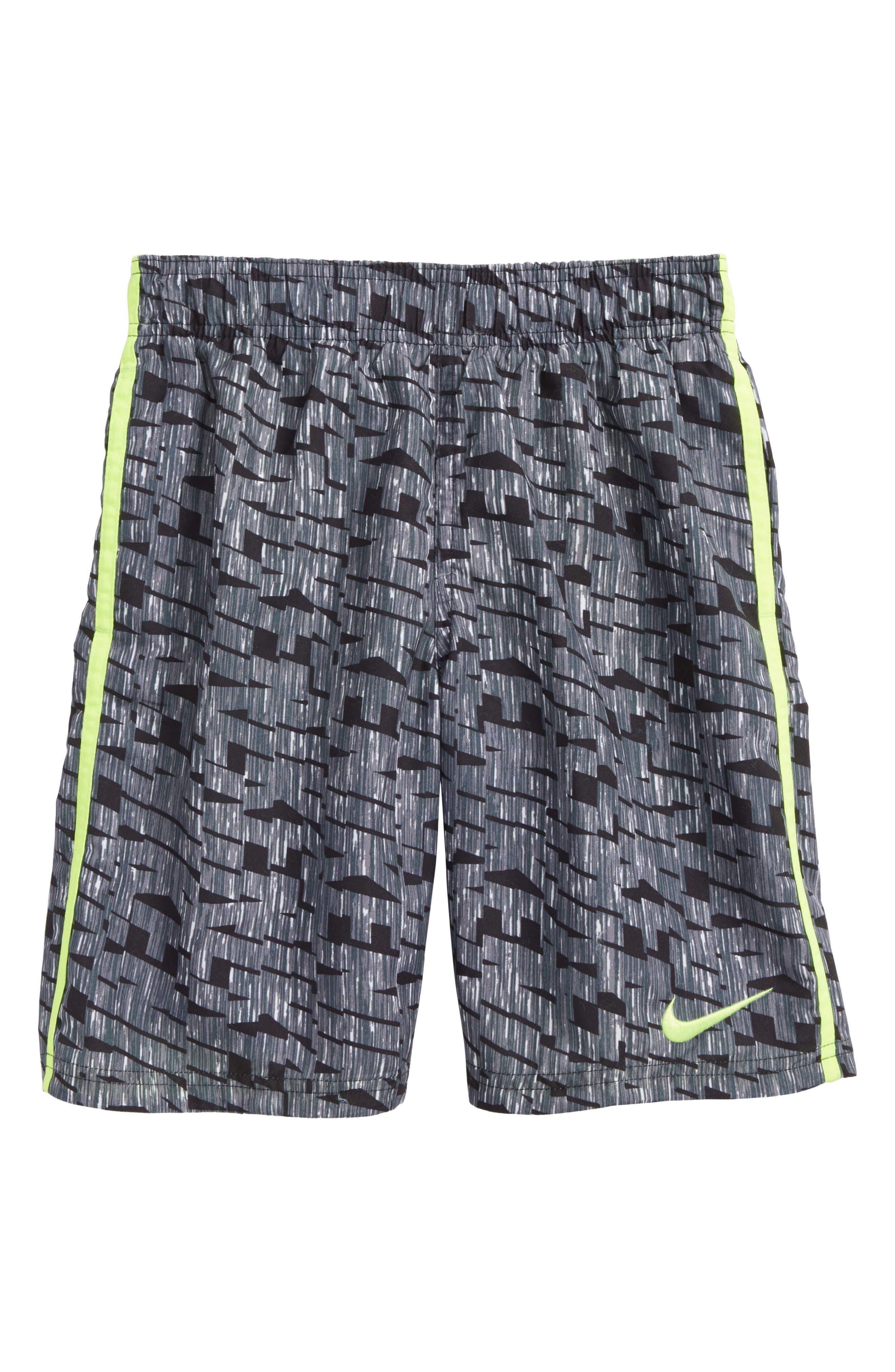 Diverge Volley Shorts,                             Main thumbnail 1, color,                             Black