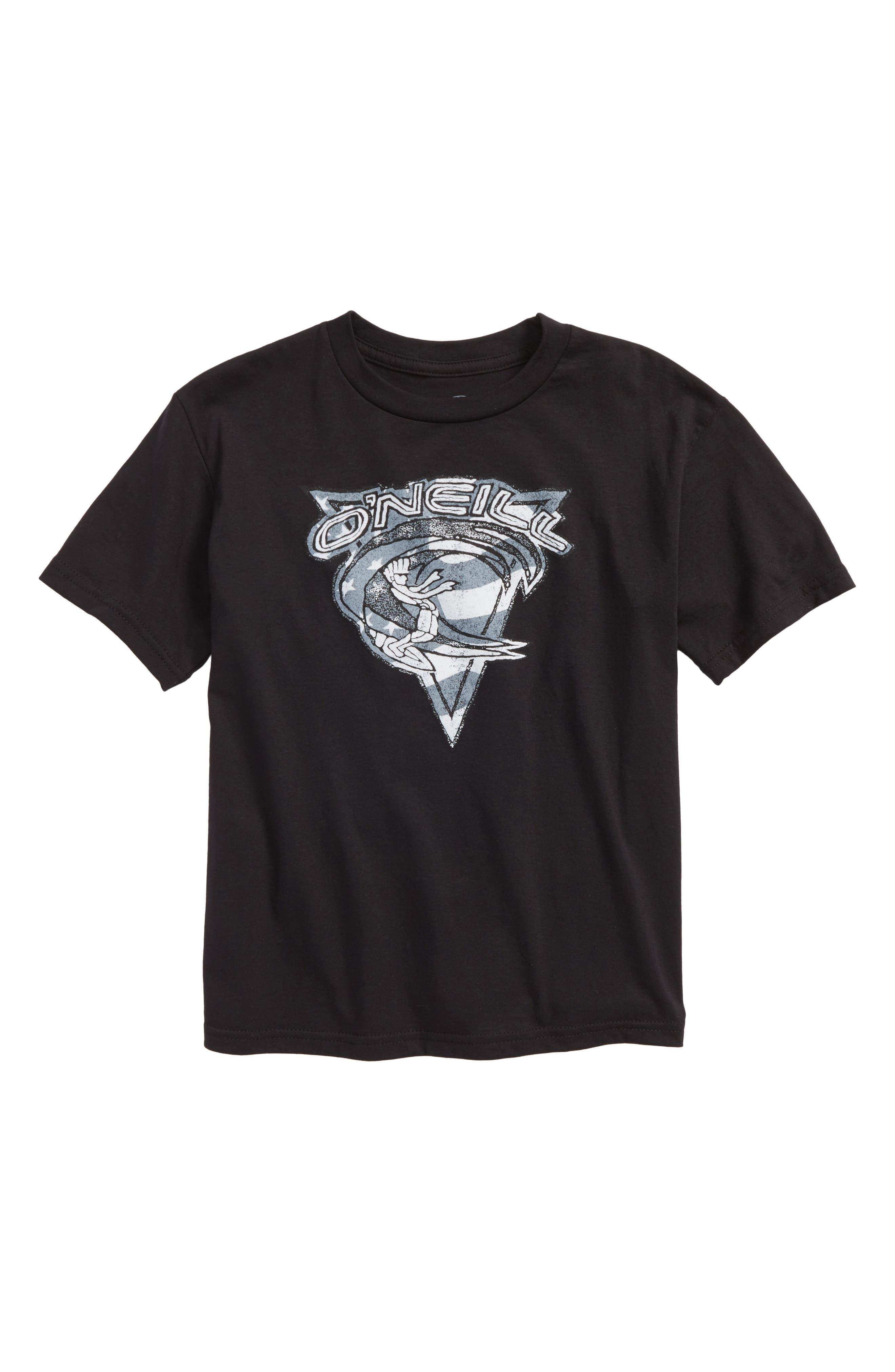 Main Image - O'Neill Patriot Graphic T-Shirt (Big Boys)