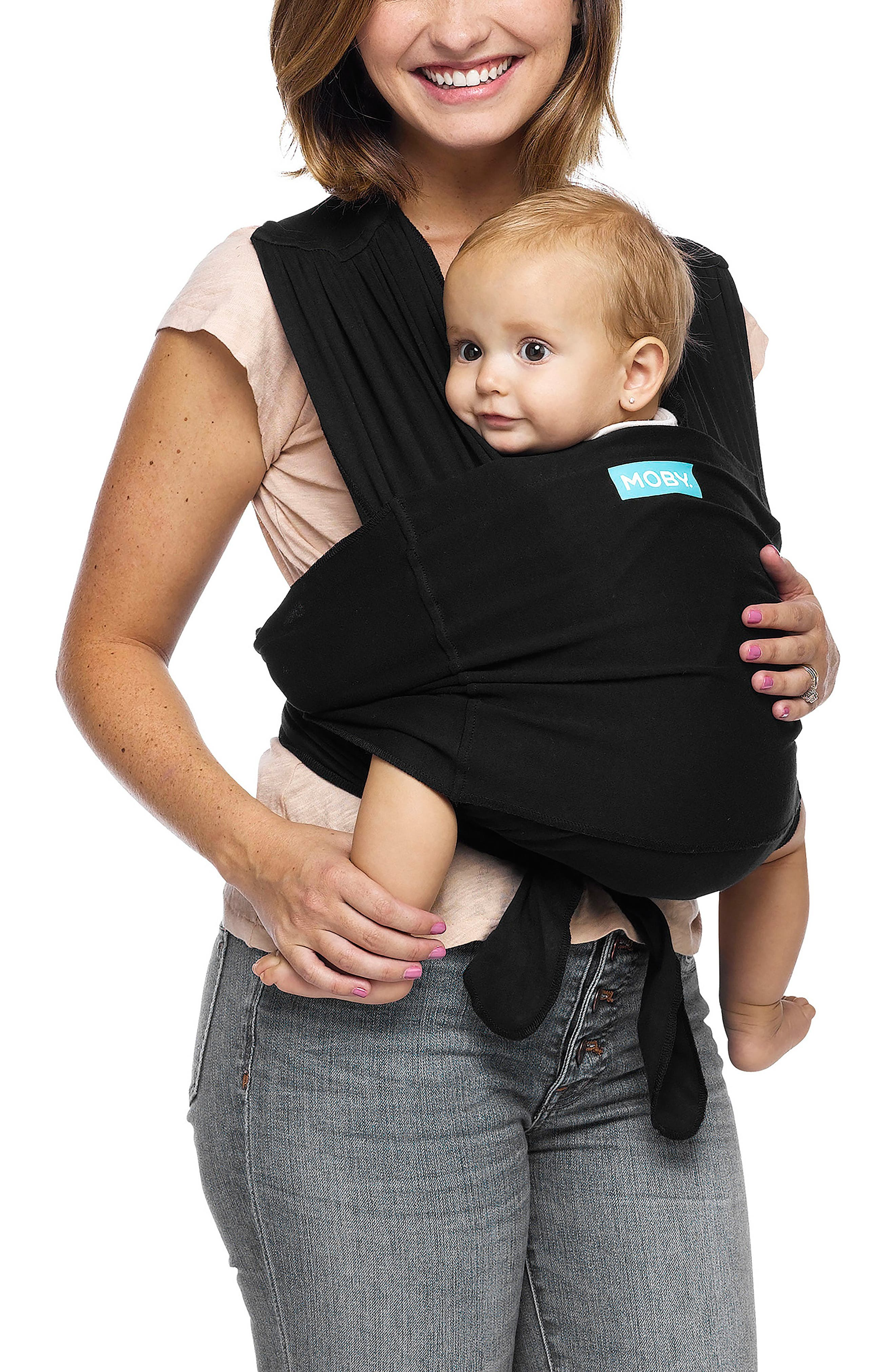 Wrap Fit Hybrid Baby Carrier,                         Main,                         color, Black