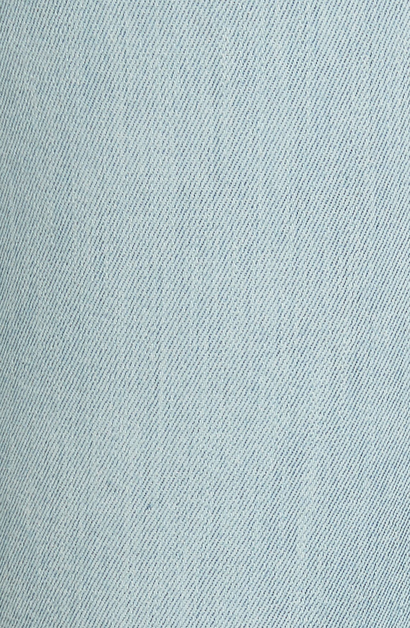 AO.LA Amazing Embroidered Slim Crop Jeans,                             Alternate thumbnail 5, color,                             Multi