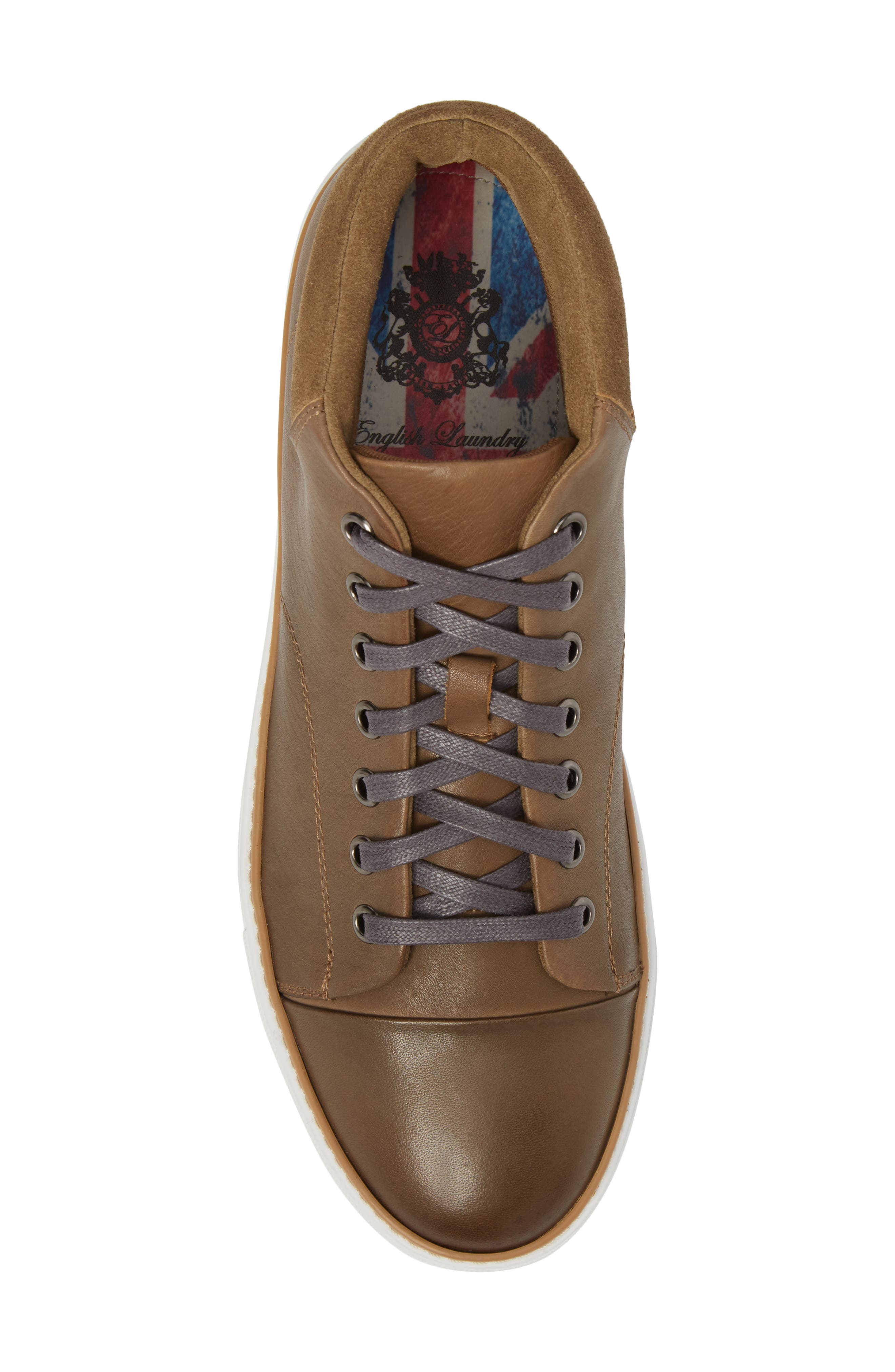 Grove Sneaker,                             Alternate thumbnail 5, color,                             Tan Leather