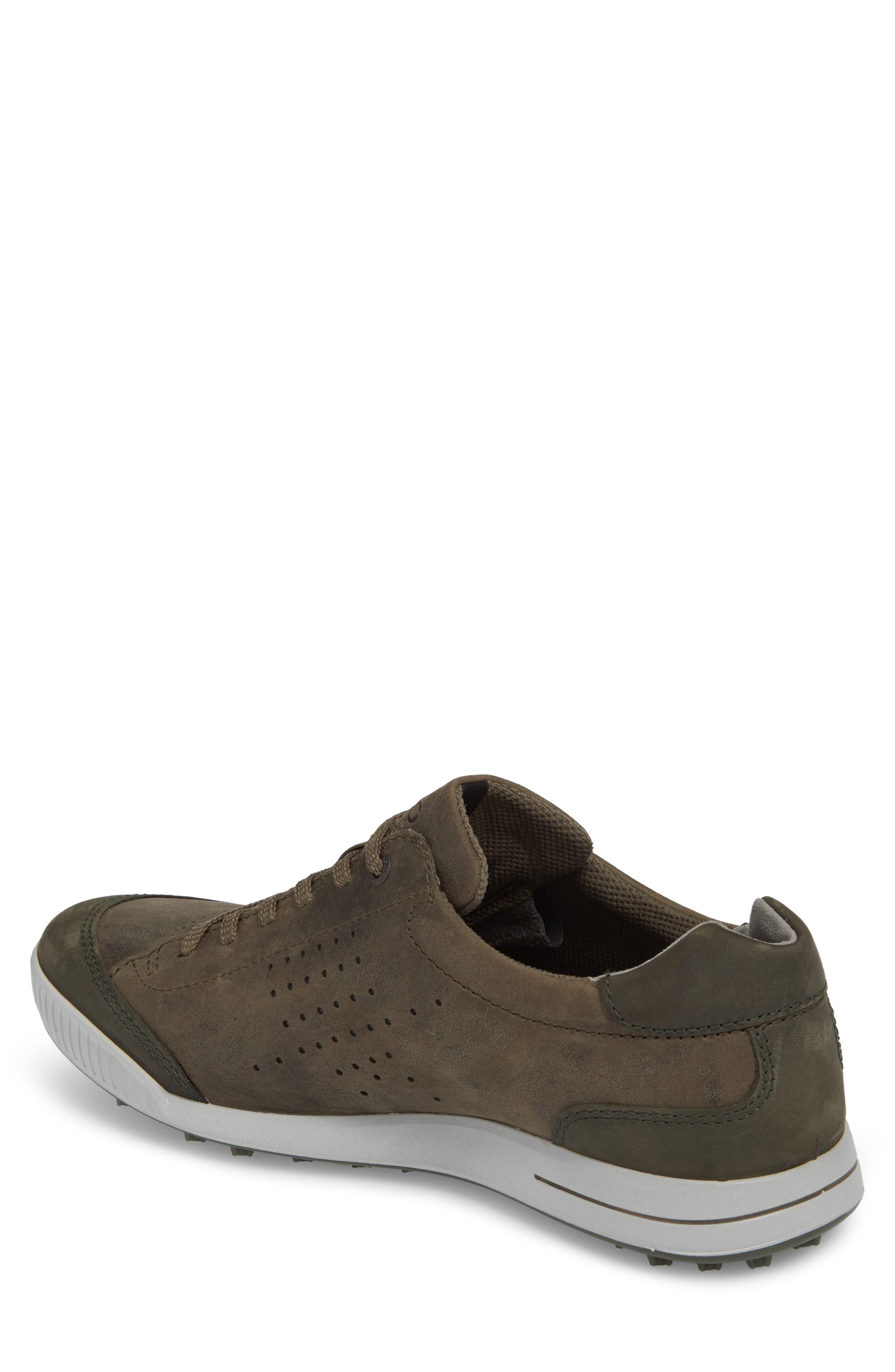 Street Retro HM Golf Shoe,                             Alternate thumbnail 2, color,                             Tarmac/ Deep Fore Leather