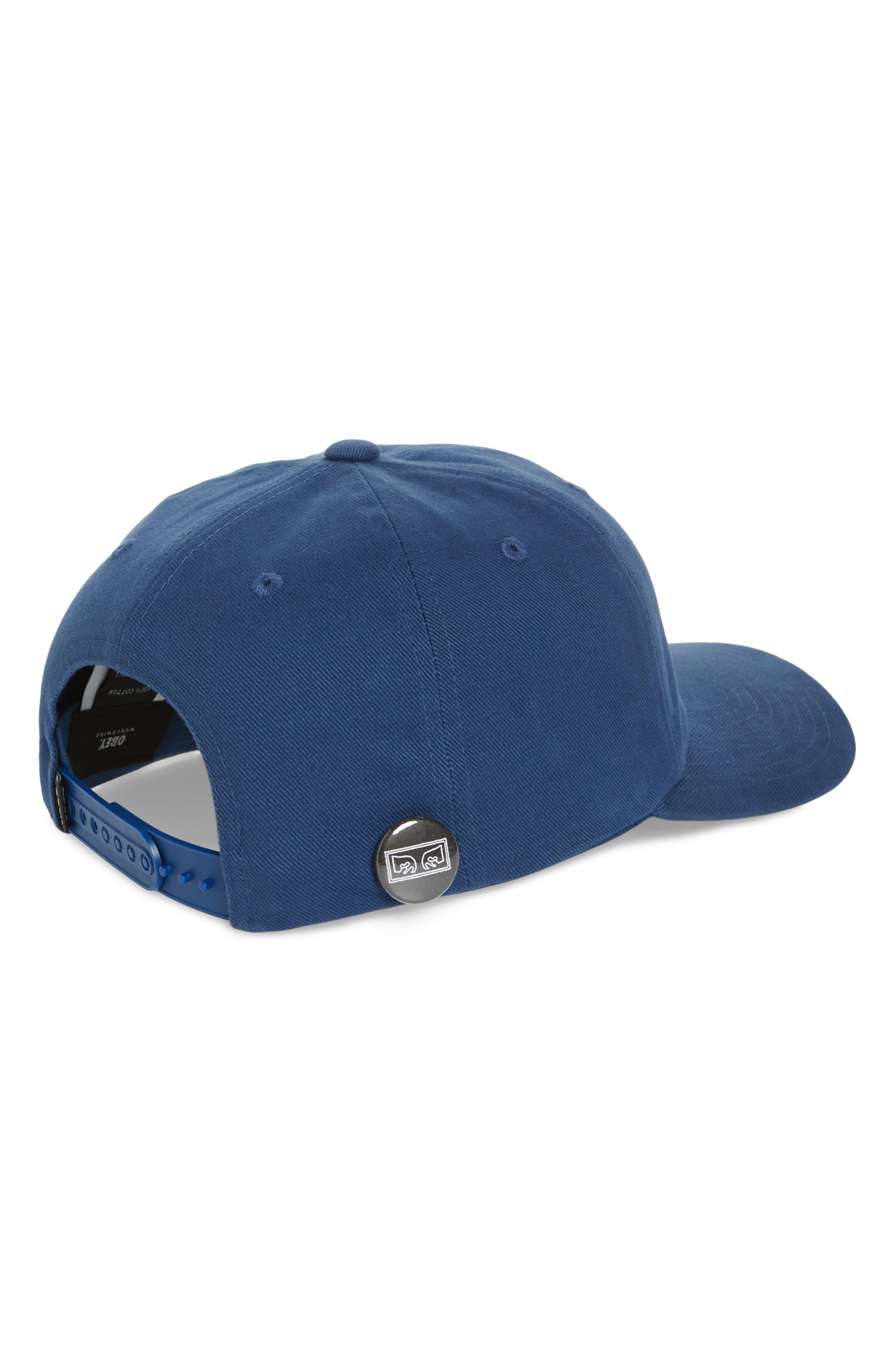 Cutty Snapback Cap,                             Alternate thumbnail 2, color,                             Dusty Blue