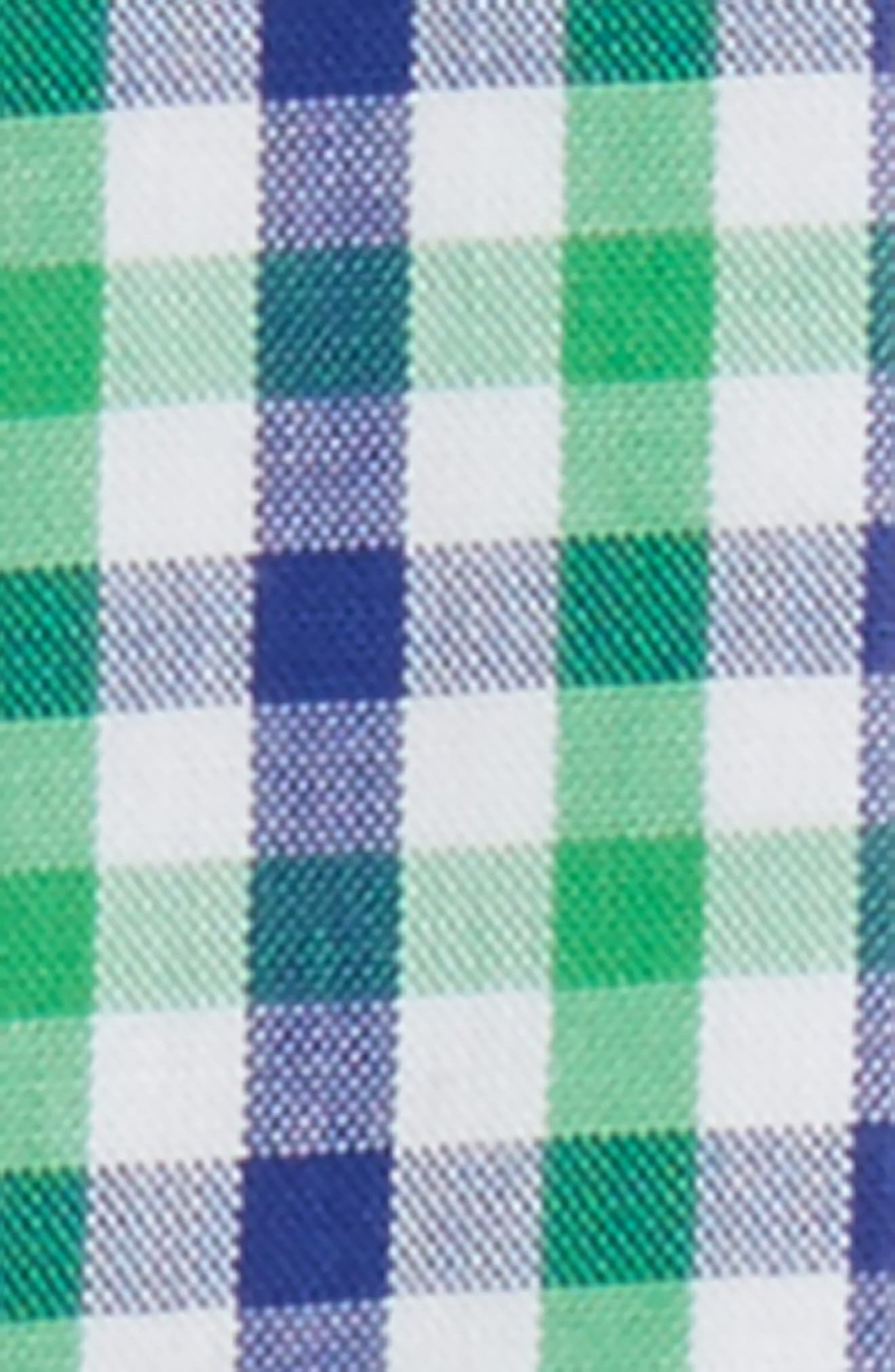 Ragazzo Check Suspenders,                             Alternate thumbnail 2, color,                             Green