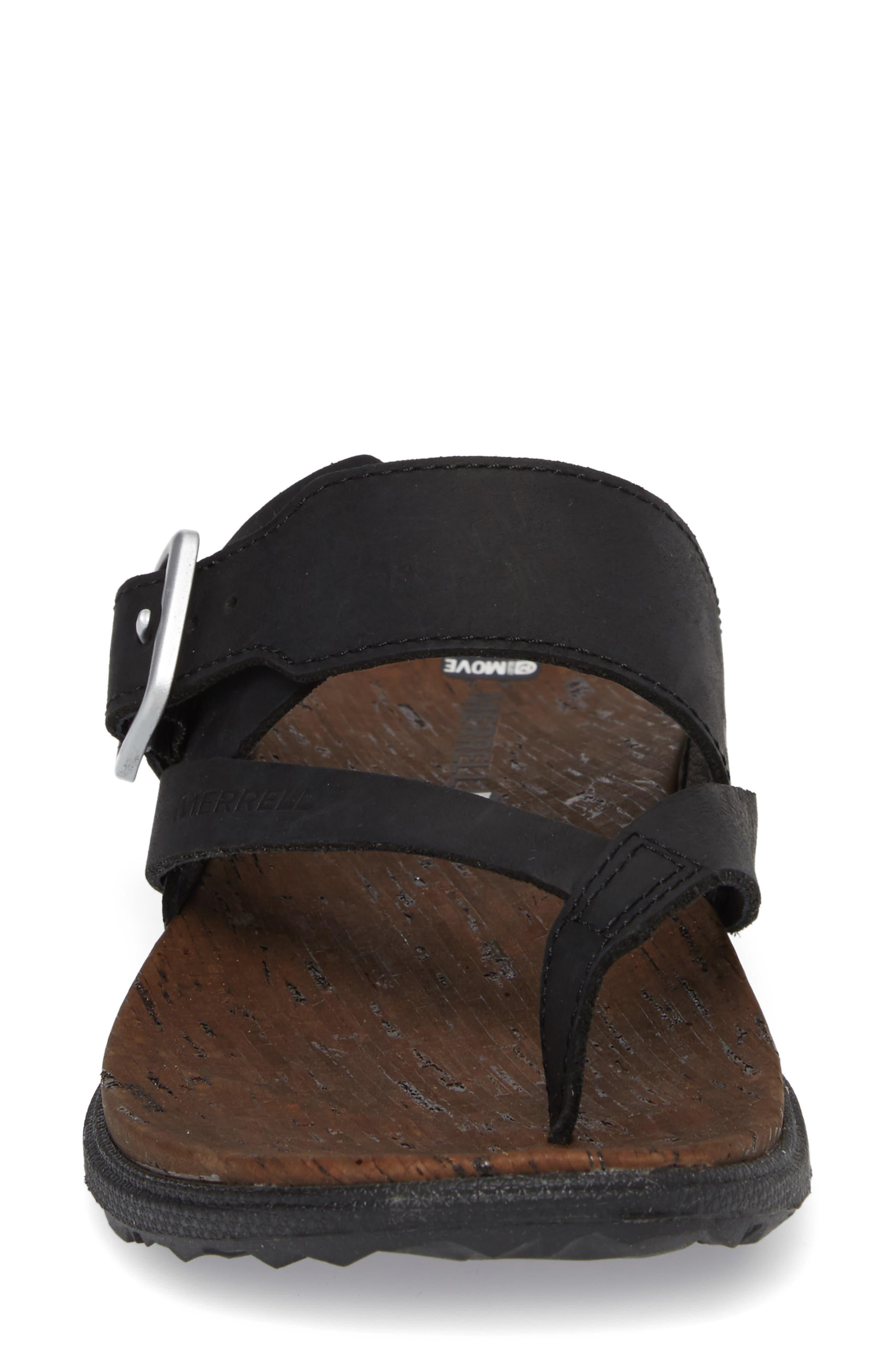 Alternate Image 3  - Merrell Around Town Buckle Slide Sandal (Women)