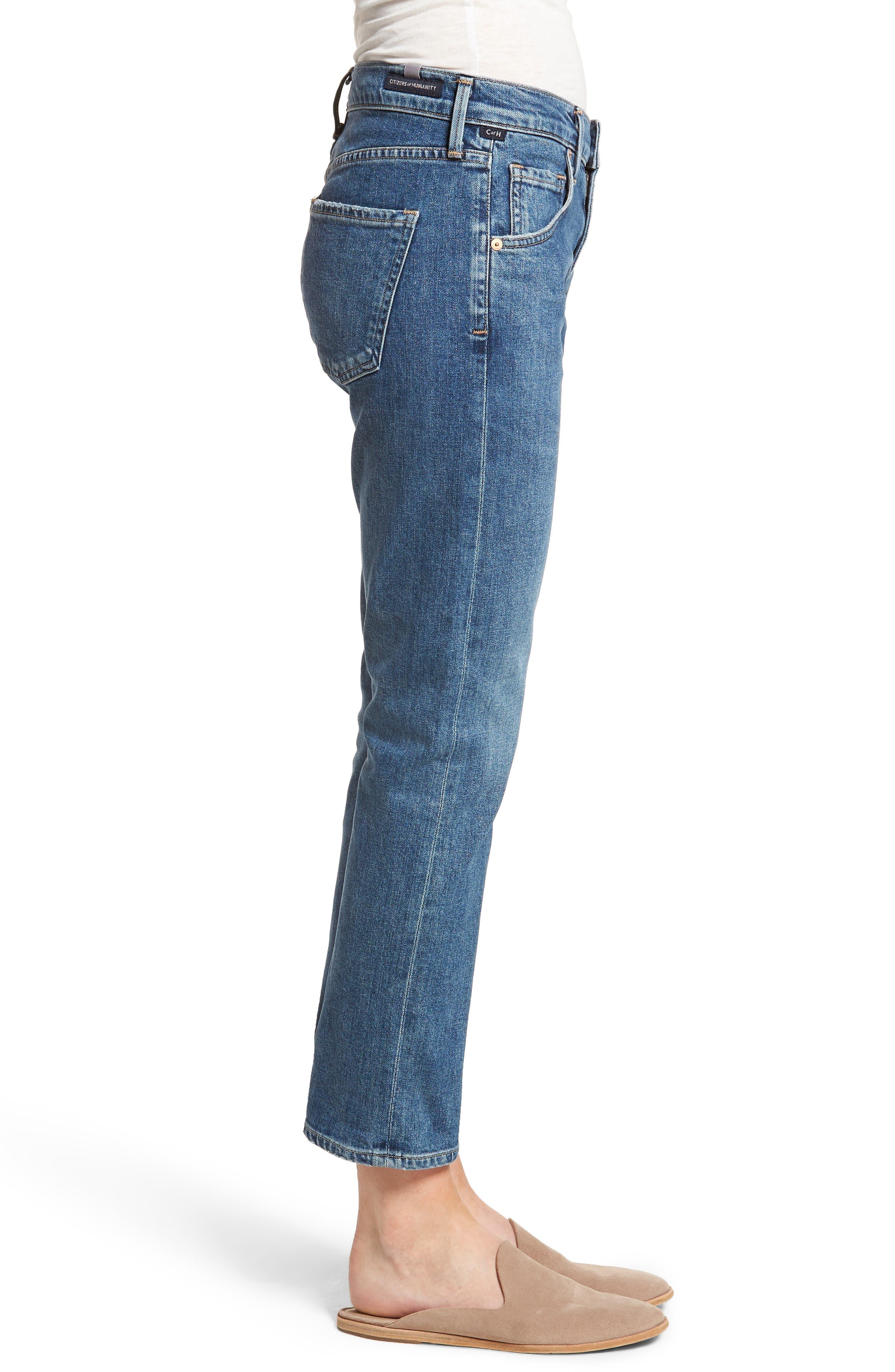 Emerson Slim Boyfriend Jeans,                             Alternate thumbnail 3, color,                             Century