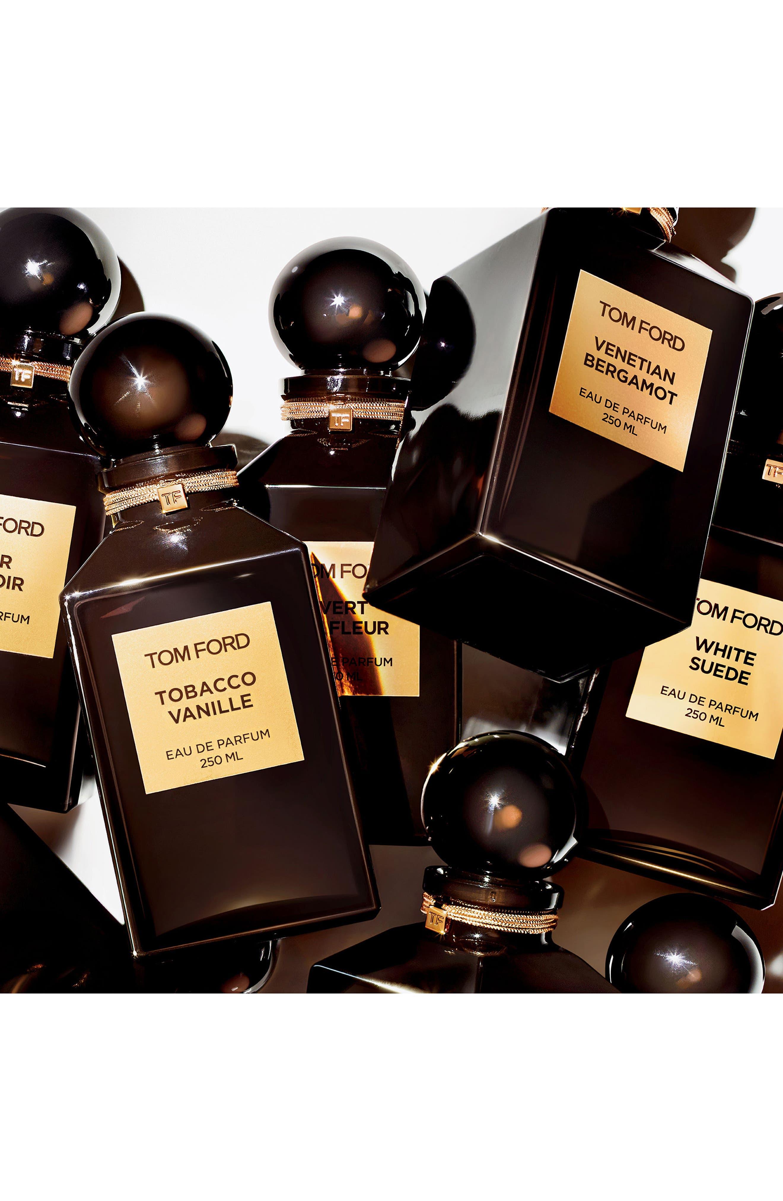 Private Blend Tuscan Leather Eau de Parfum Decanter,                             Alternate thumbnail 3, color,                             No Color