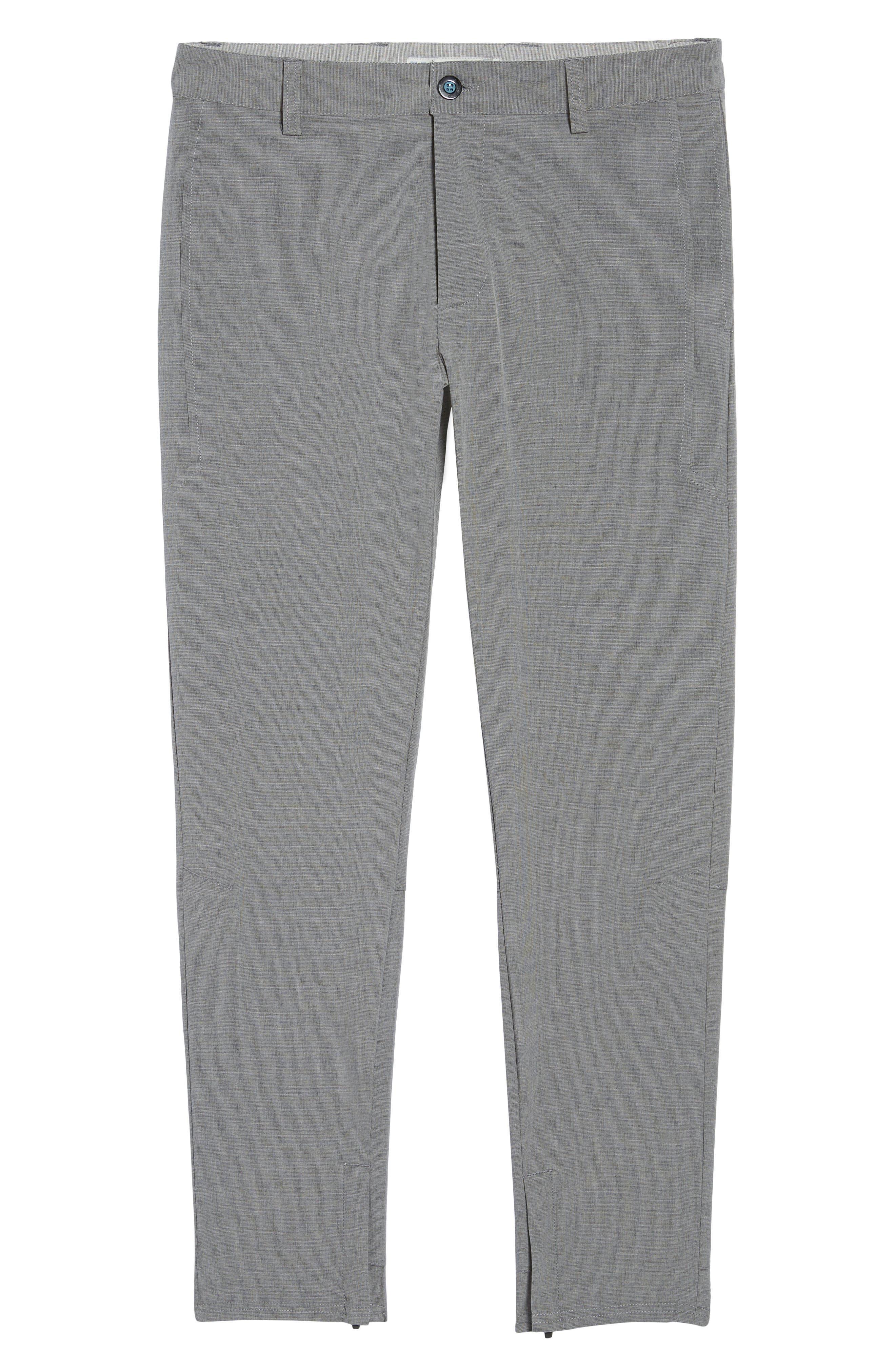 Gravity Athletic Fit Pants,                             Alternate thumbnail 6, color,                             Charcoal
