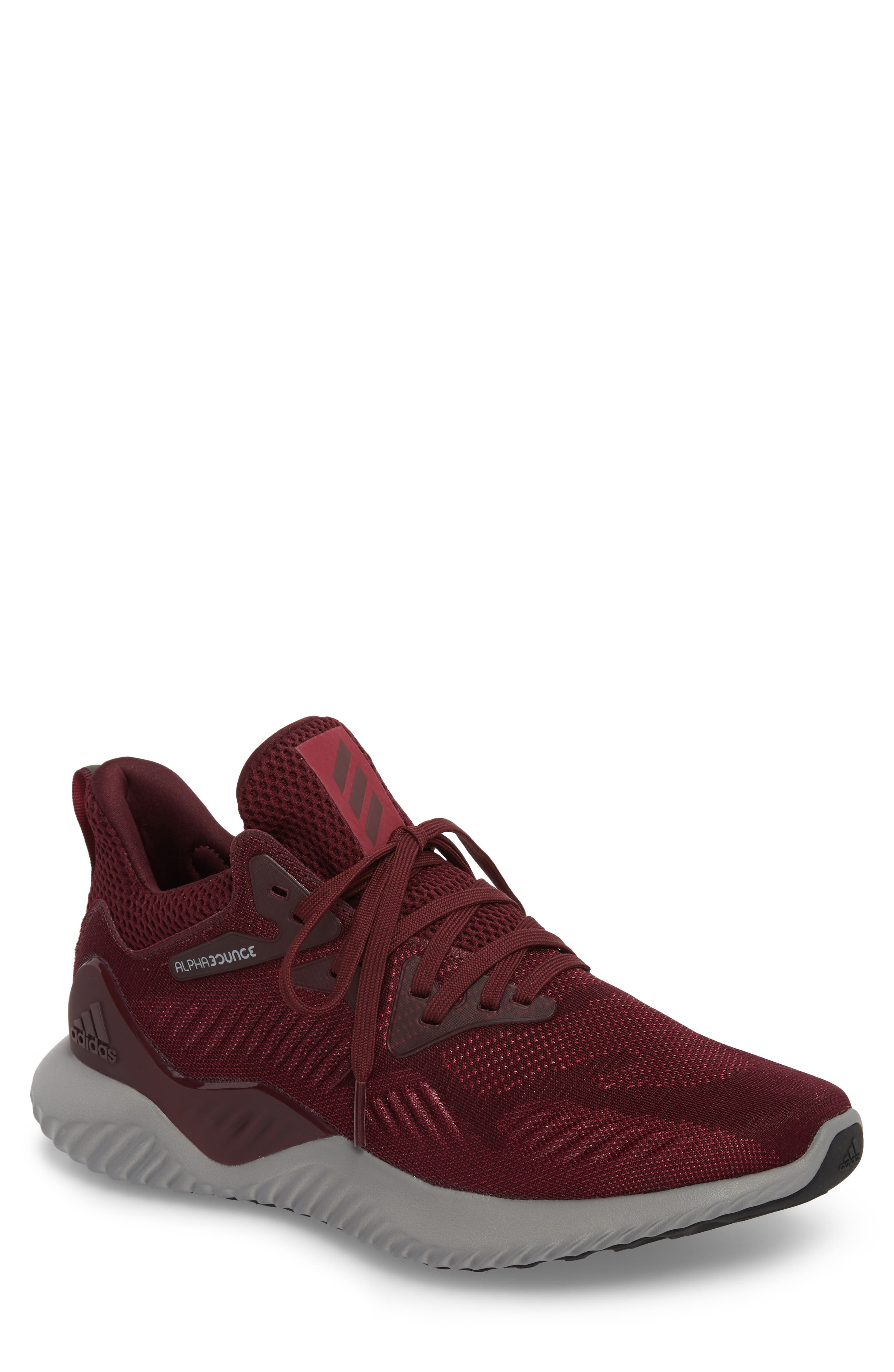 Adidas AlphaBounce Beyond Knit Running Shoe Men
