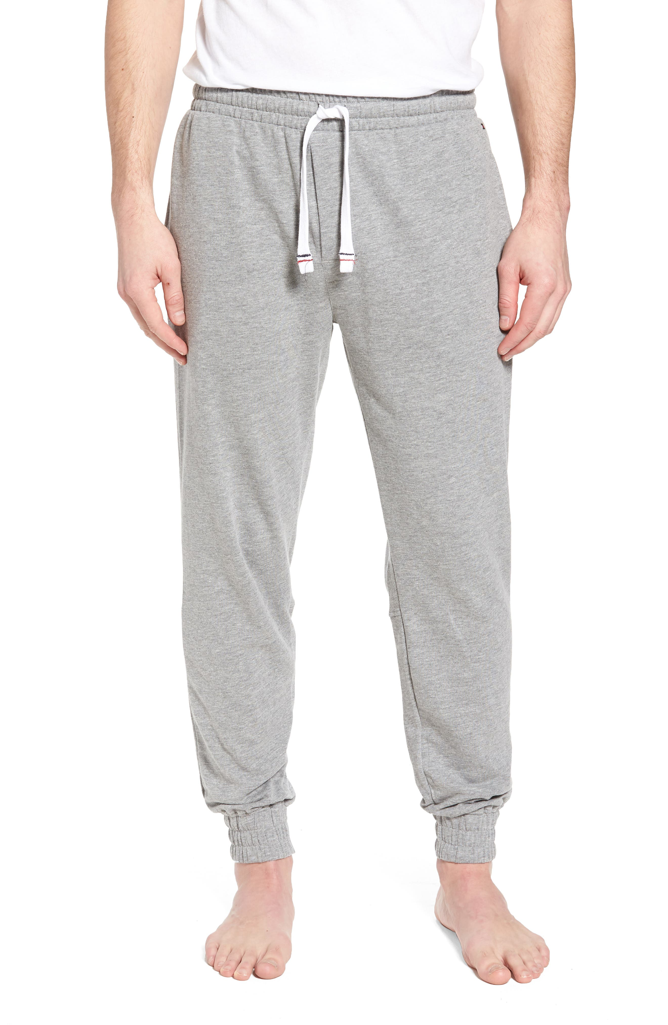 Jogger Lounge Pants,                             Main thumbnail 1, color,                             Grey Heather