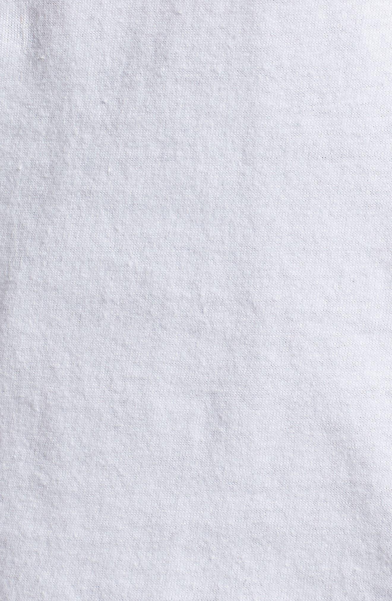 Aaliyah T-Shirt,                             Alternate thumbnail 5, color,                             White Tee Aaliyah