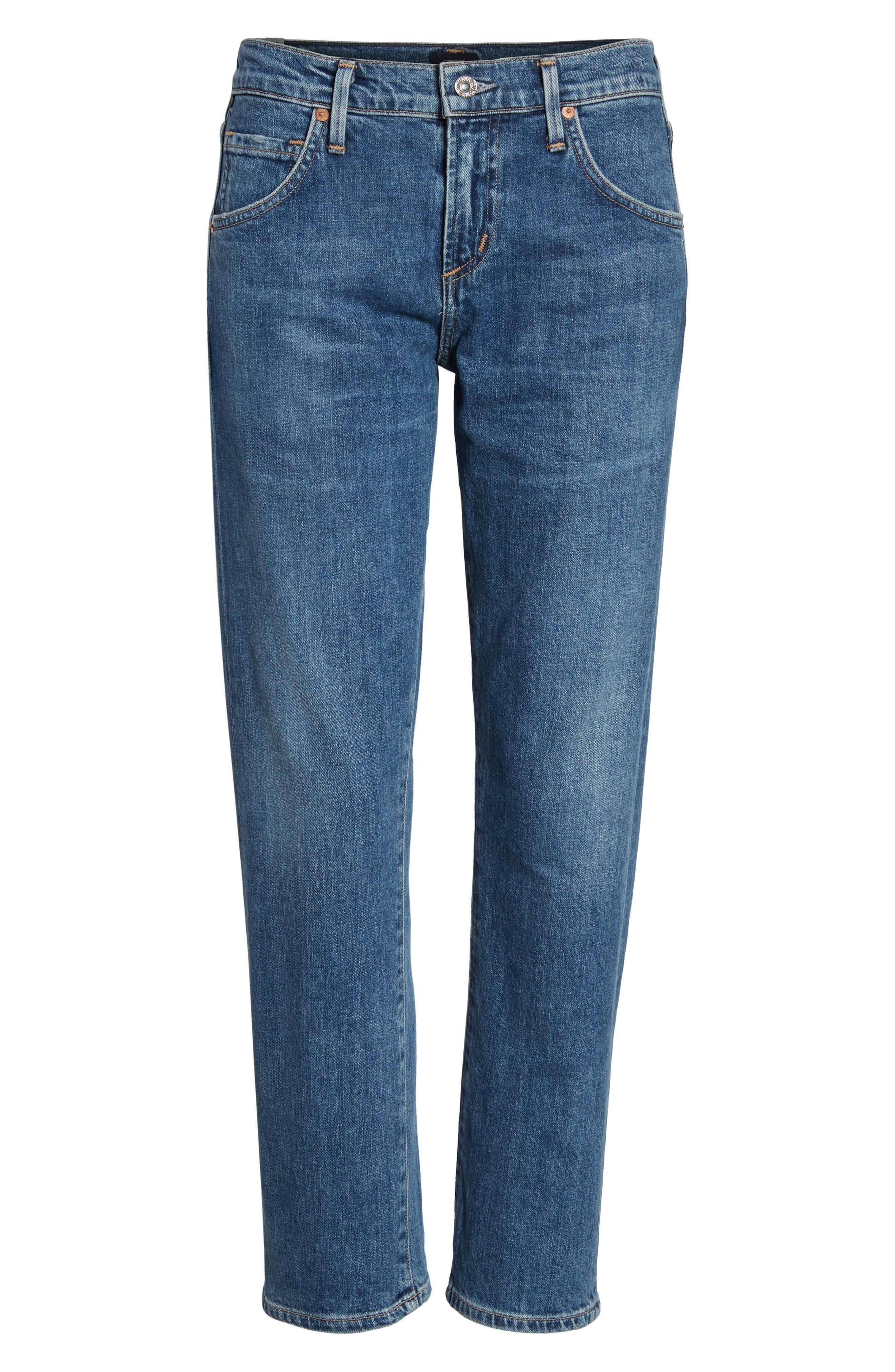 Emerson Slim Boyfriend Jeans,                             Alternate thumbnail 7, color,                             Century