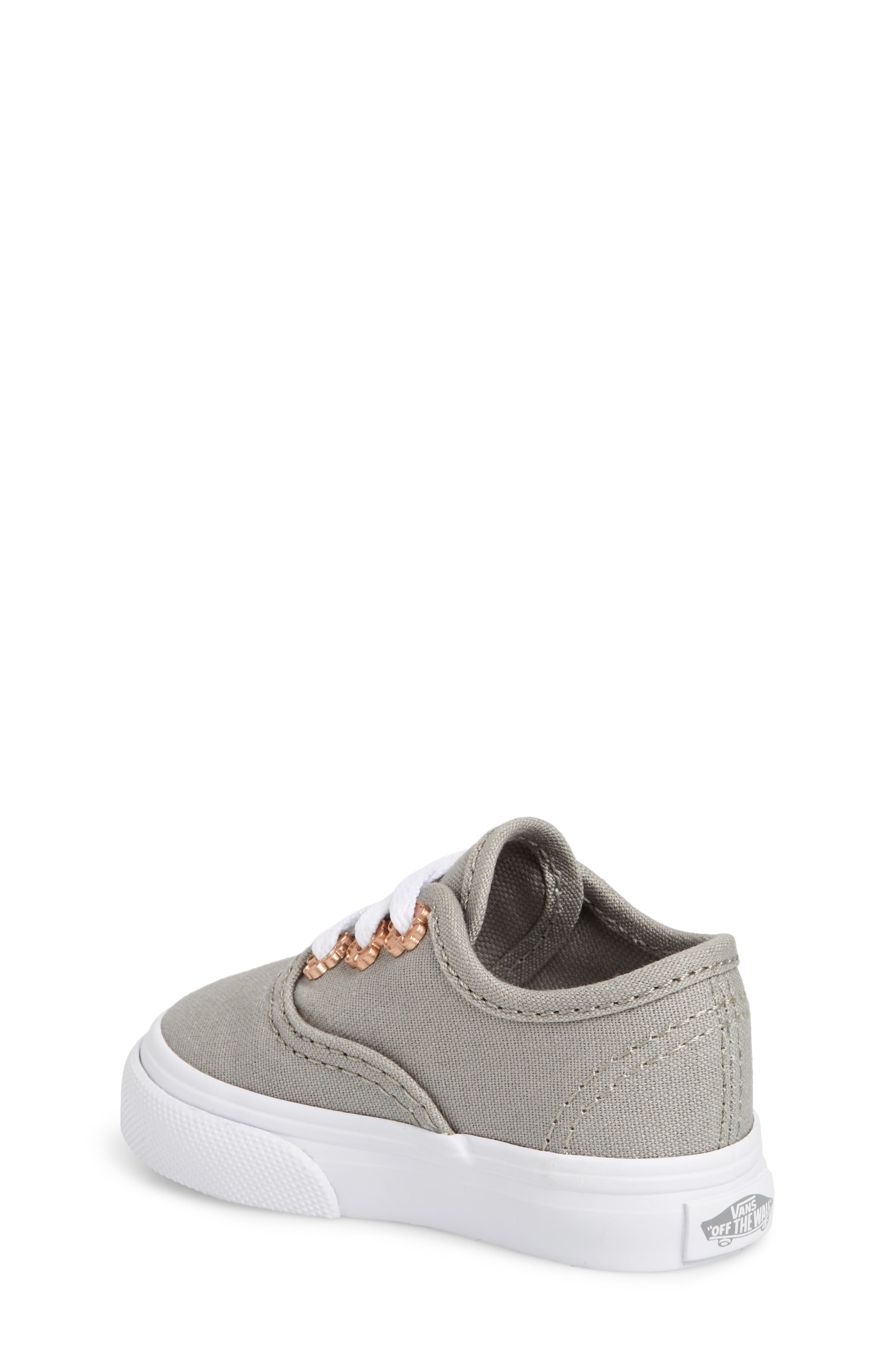 Authentic Sneaker,                             Alternate thumbnail 2, color,                             Drizzle Flower Eyelet